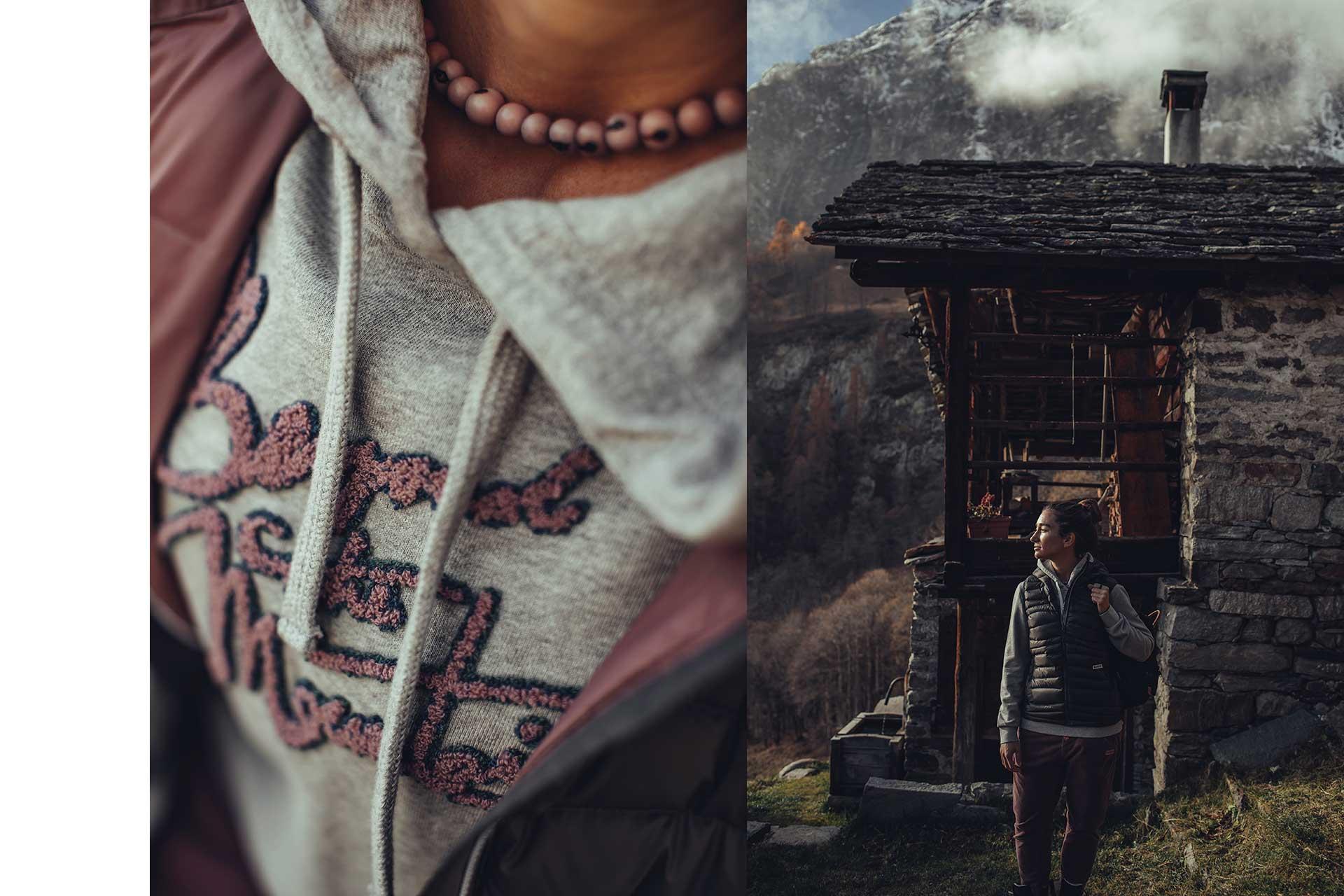 Detail Fotograf Outdoor Hütte Lifestyle Streetwear Berge Natur Innsbruck Österreich