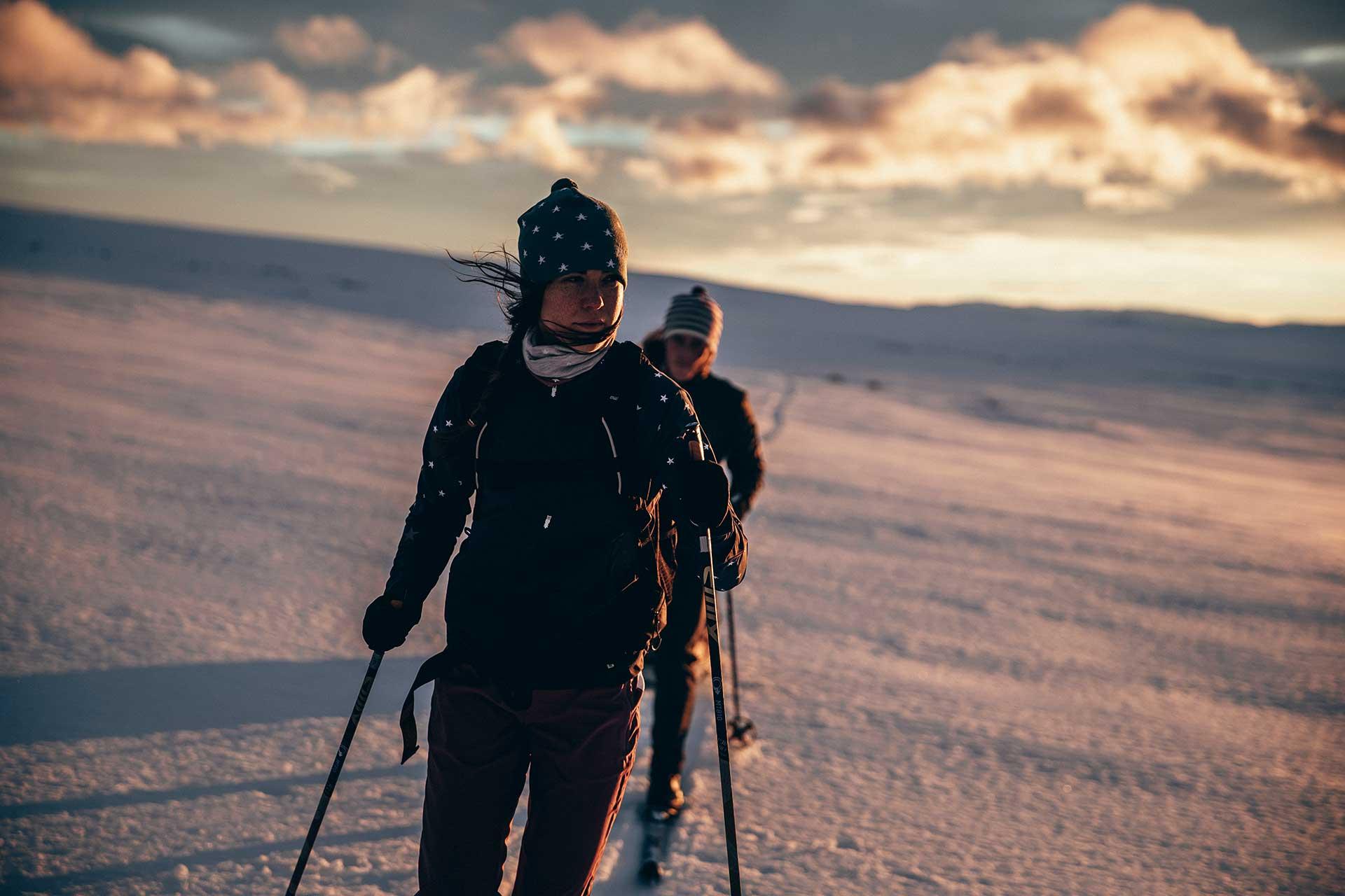 Sportfotograf Michael Müller Winter Langlauf Norwegen Skitour