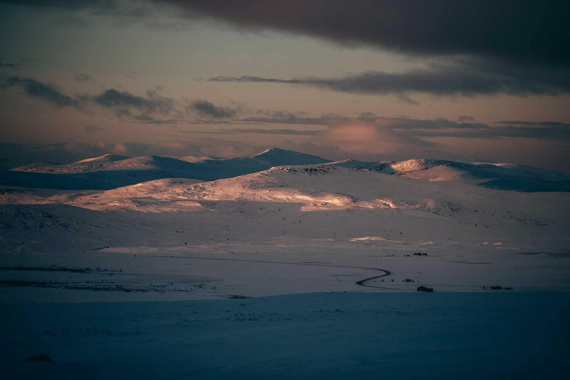 Panorama Nationalpark Rondane Fotograf Langlauf Wintersport