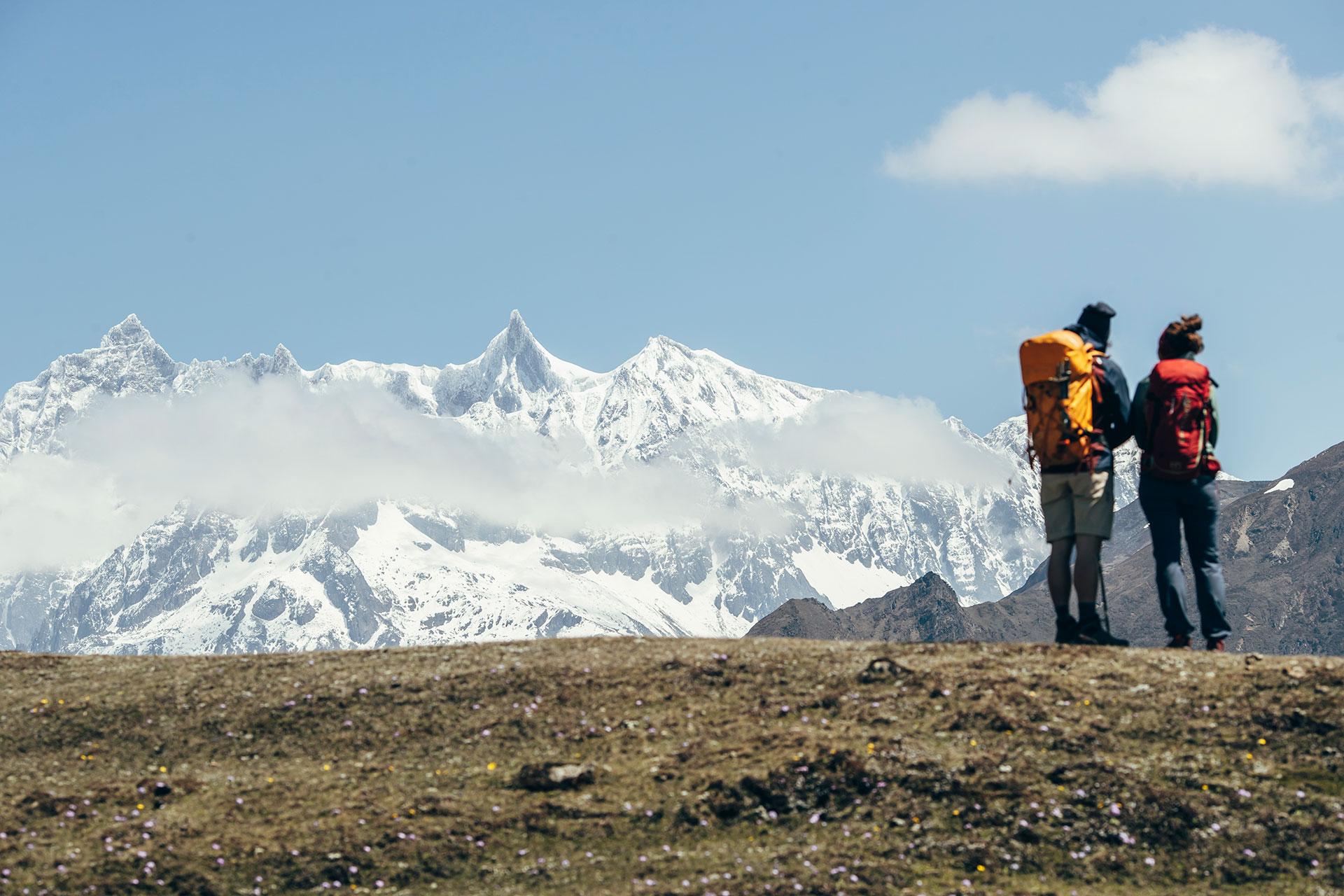 Berge Trekking Bhutan Fotograf Camping Reise Hamburg Michael Müller