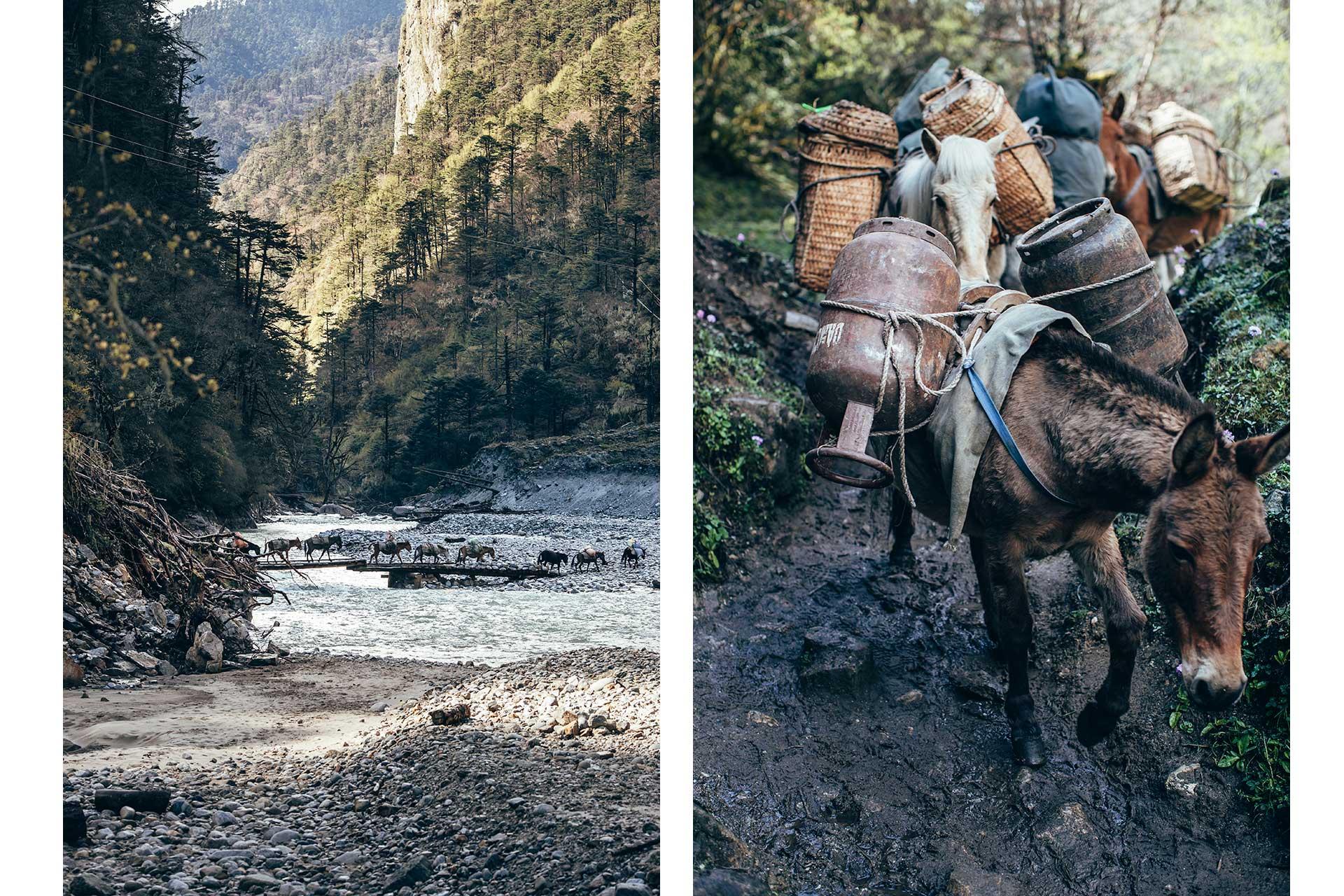 Reise Fotograf Travel Fluss Trekking Bhutan Berlin Deutschland