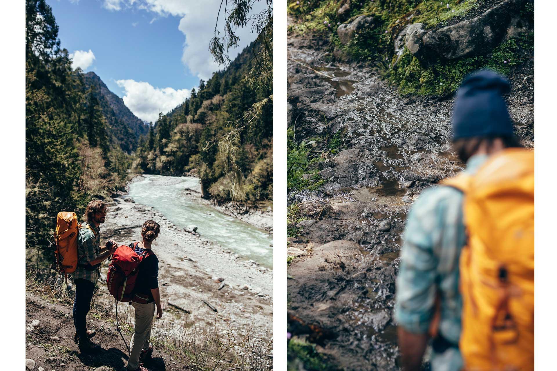 Fotograf Fluss Reise Bhutan Himalaya Trekking Reise Fotograf Berlin