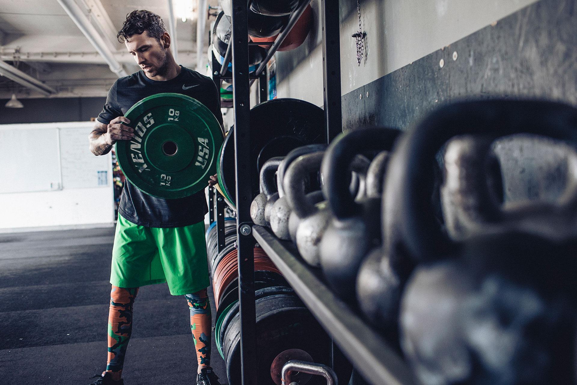 Crossfit Training Sport Fitness Schweiz Zürich Gewichte Fotograf