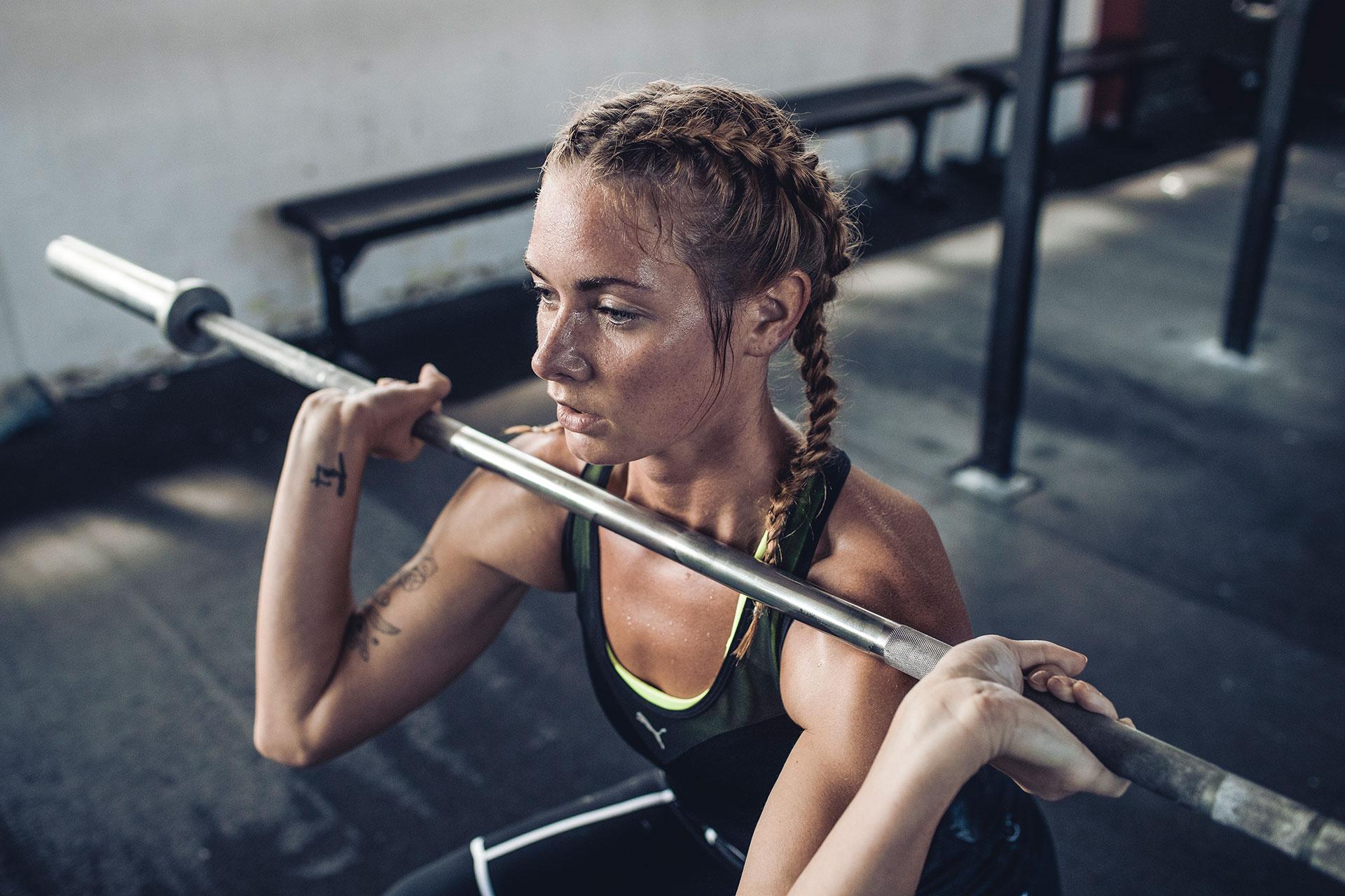 training sport fotograf fitness crossfit sport zuerich schweiz hantel