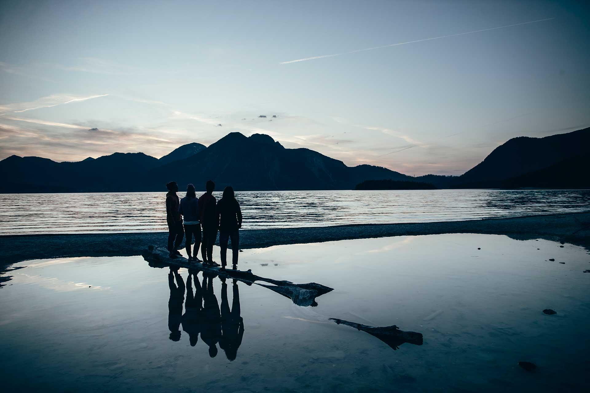 Spiegelung Fotograf Lifestyle Campen Dämmerung Michael Müller