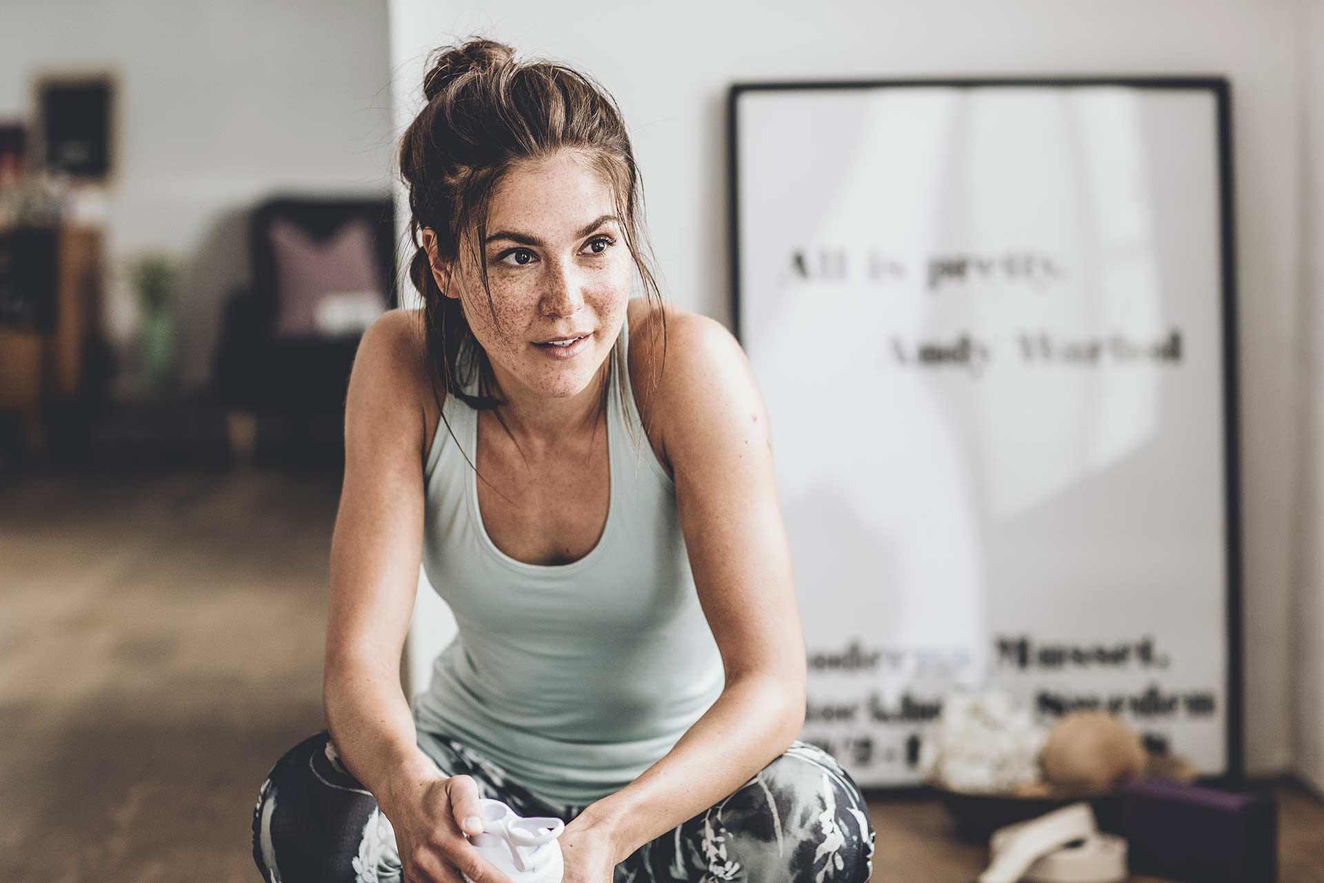 Sportfotograf Fitness Training Yoga Sport Frauen Bekleidung Engelhorn Stuttgart