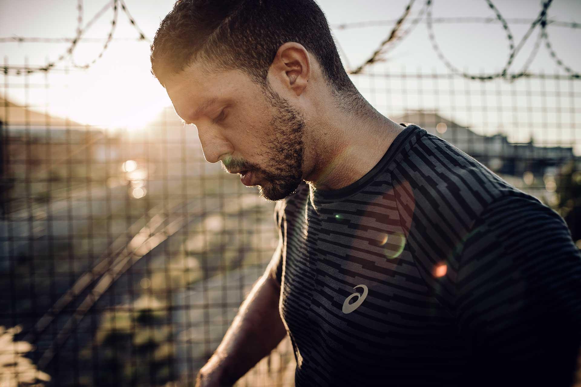 Portrait Sport Laufen Running Fitness Ausdauer London England
