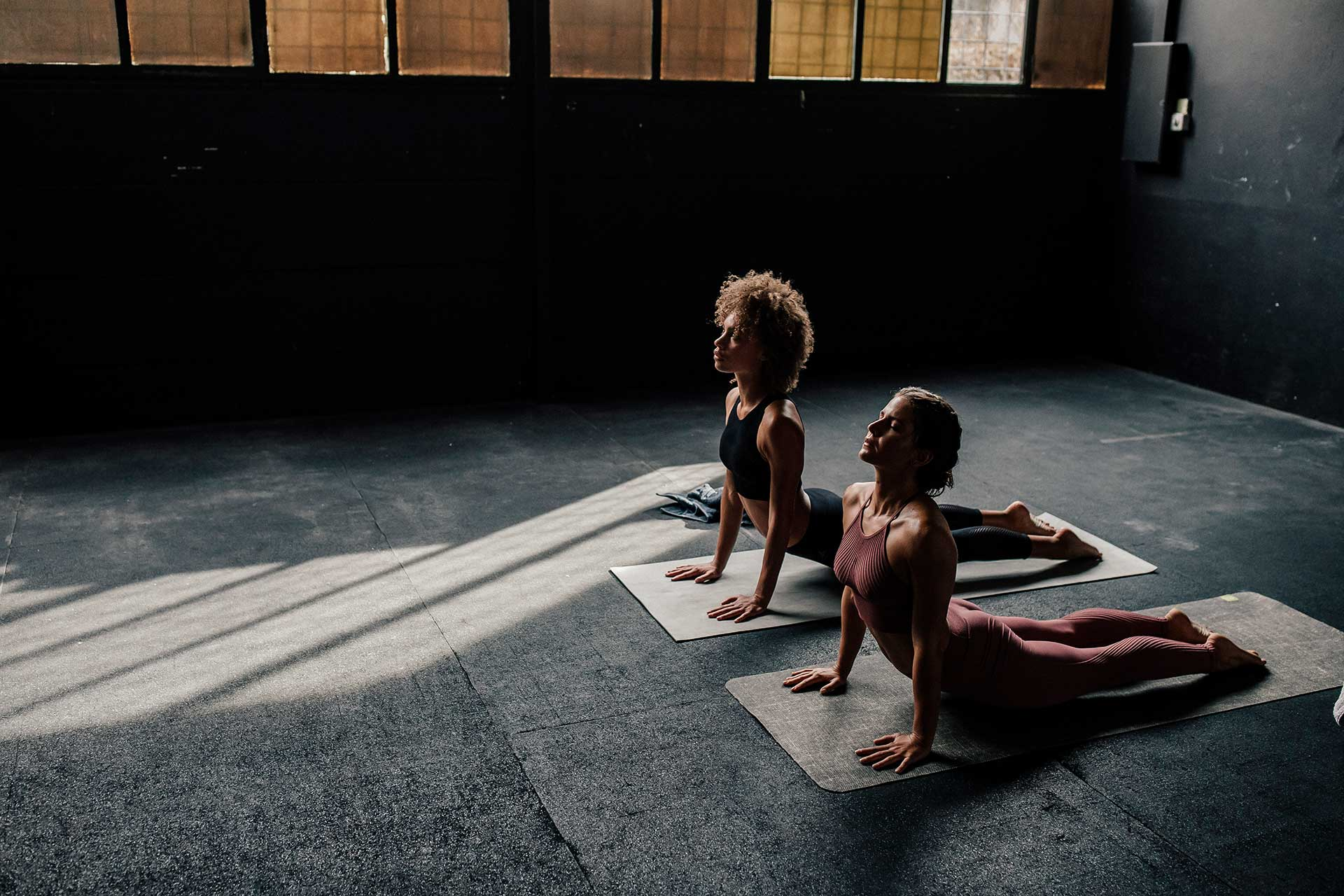 Michael Müller Fotograf Training Sport Frauen Yoga