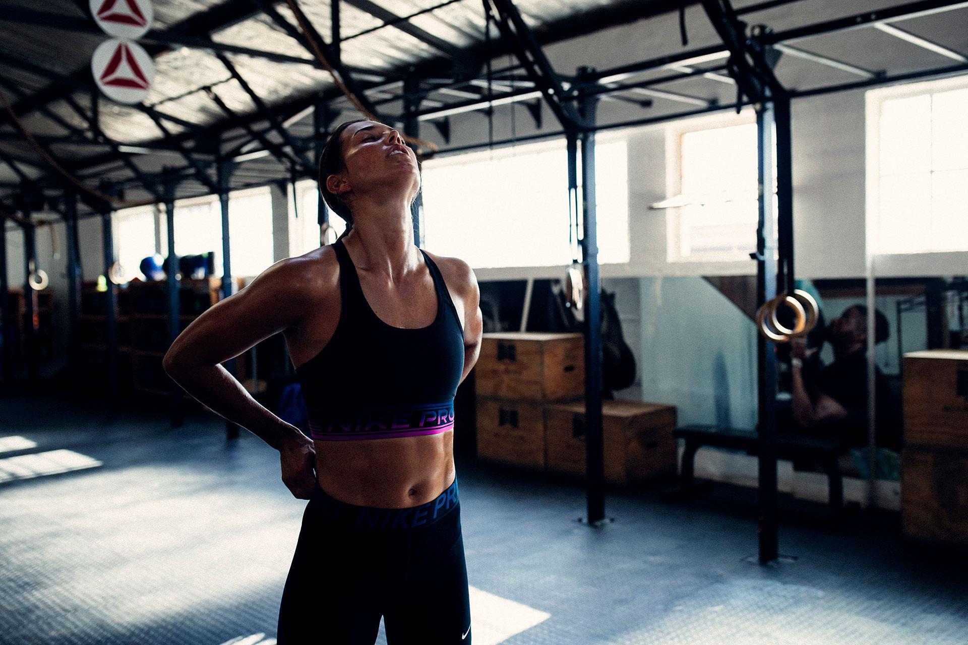 Schwitzen Fitness Studio Fotograf Training Crossfit Gym Zürich