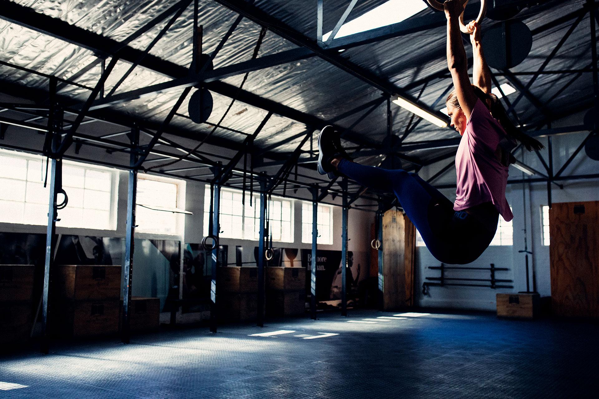 Fotografie Schweiß Training Fitness Studio Crossfit Kapstadt Südafrika