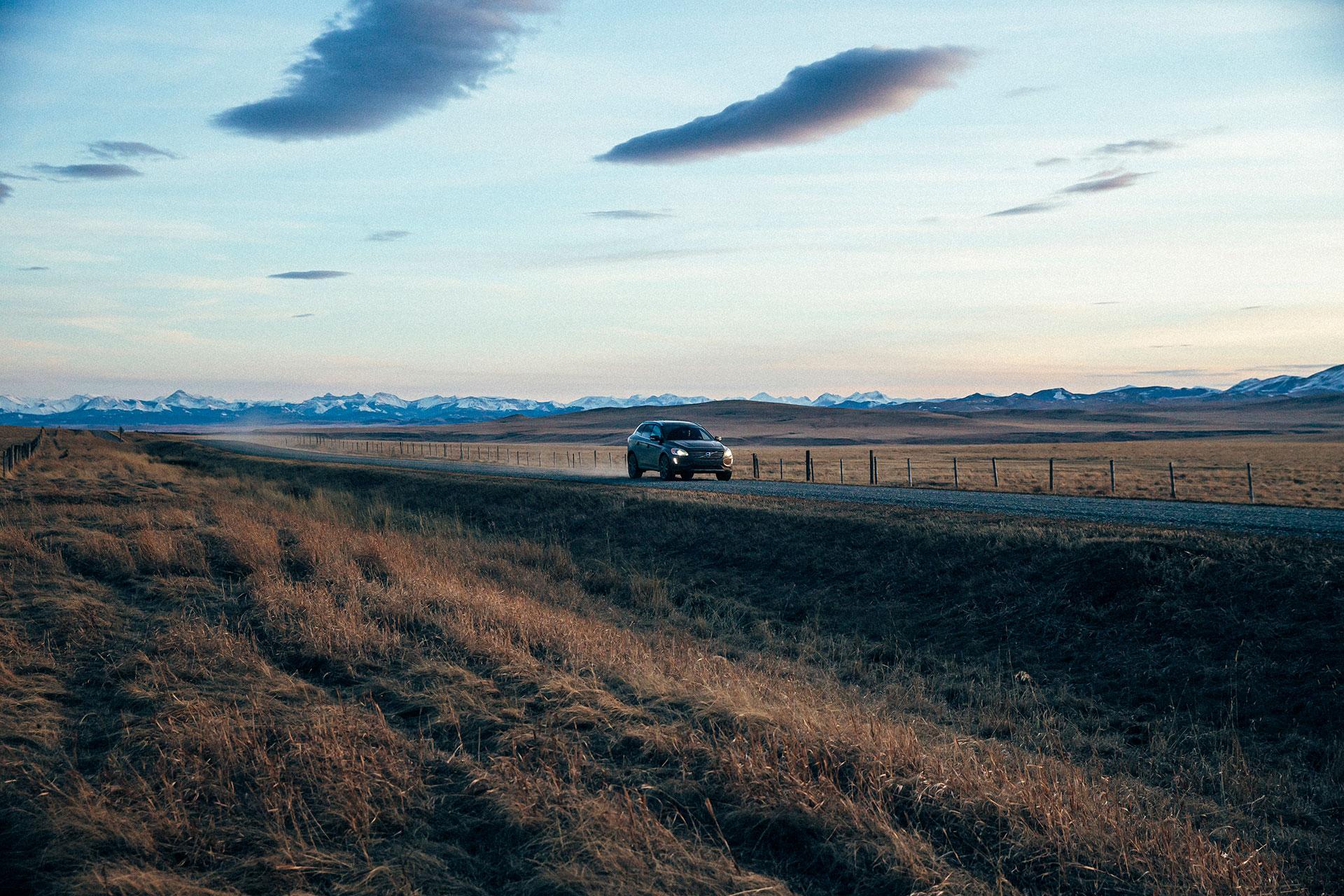 Fotoproduktion Travel Outdoor Reisen Wandern Deutschland Volvo Automotive