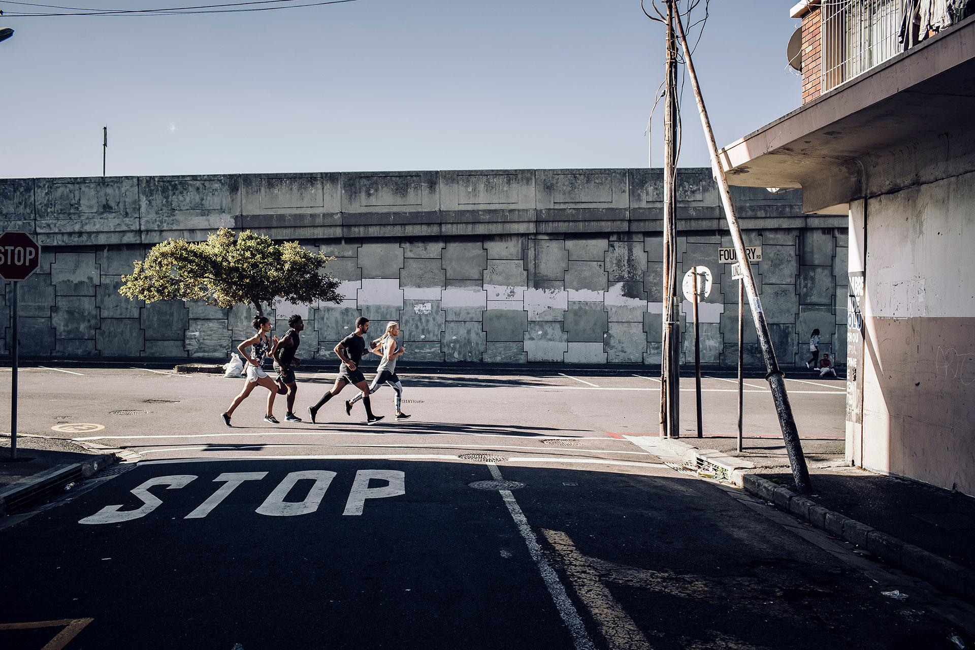 Street Fotograf Running Sport Fitness Training Deutschland Berlin Fotoproduktion Michael Müller