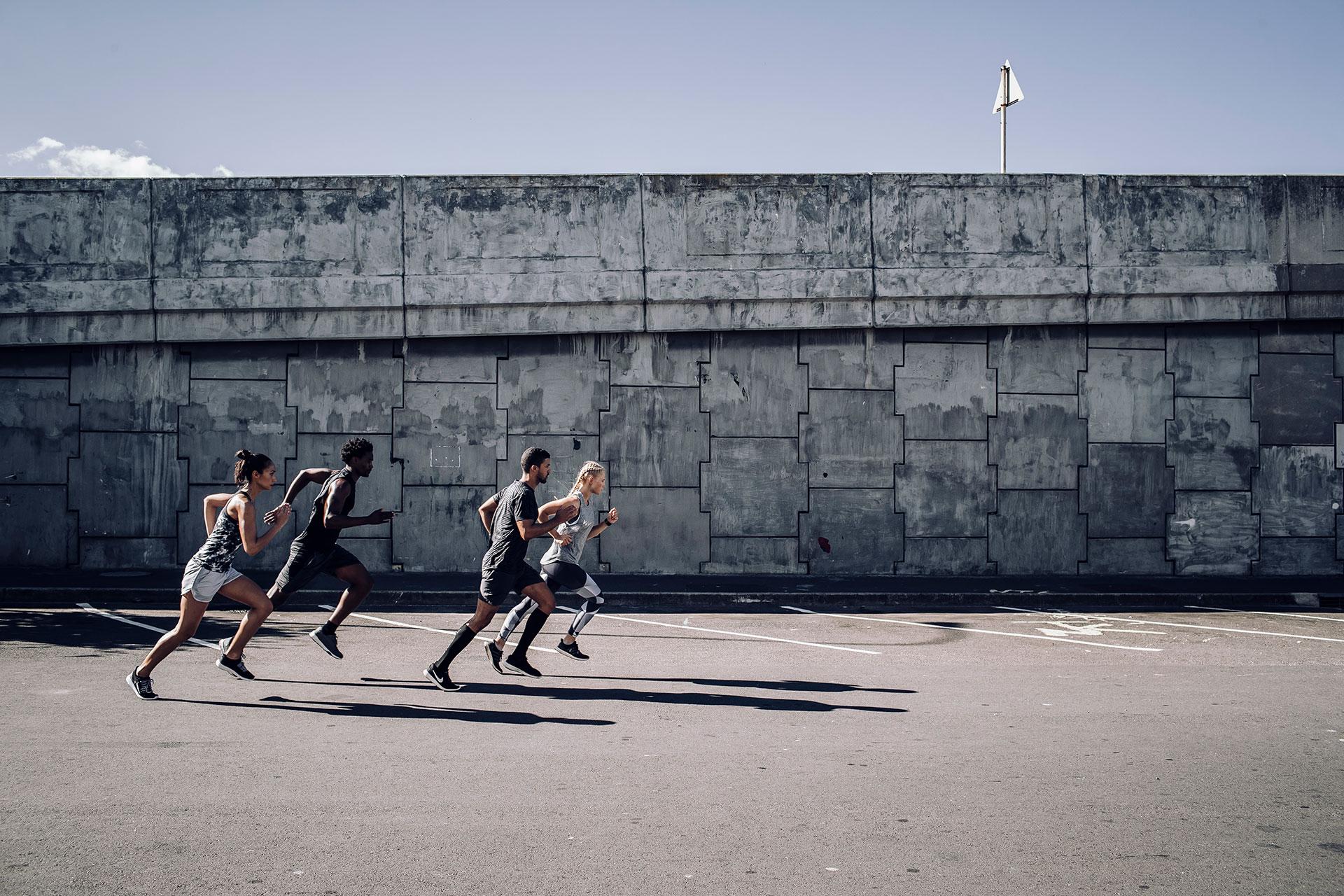 Zürich Sportfotograf Fotoproduktion Outdoor Running