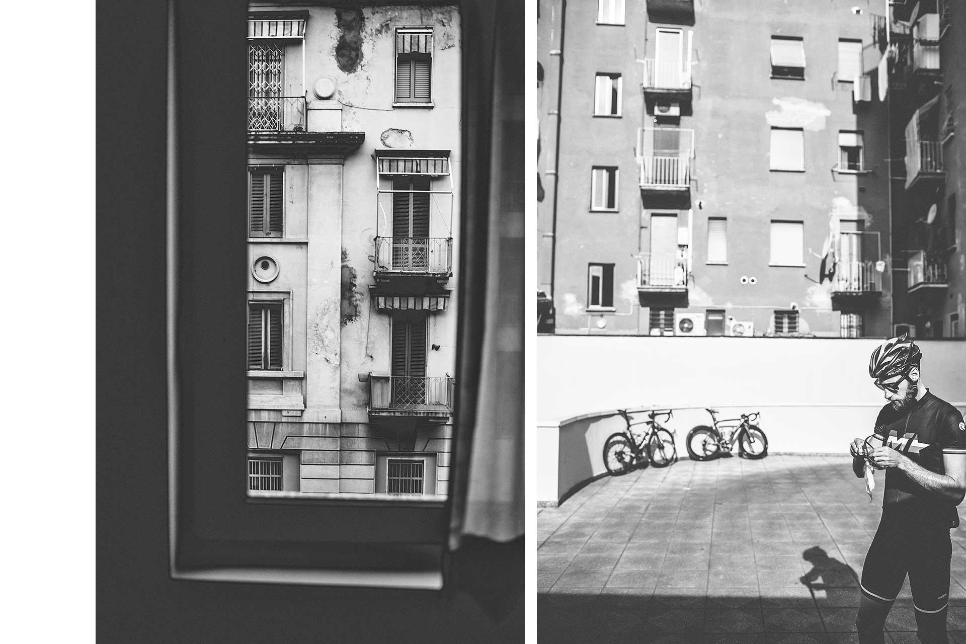 Fotograf Michael Müller Rennrad Aktion Sport Fahrrad Mailand San Remo