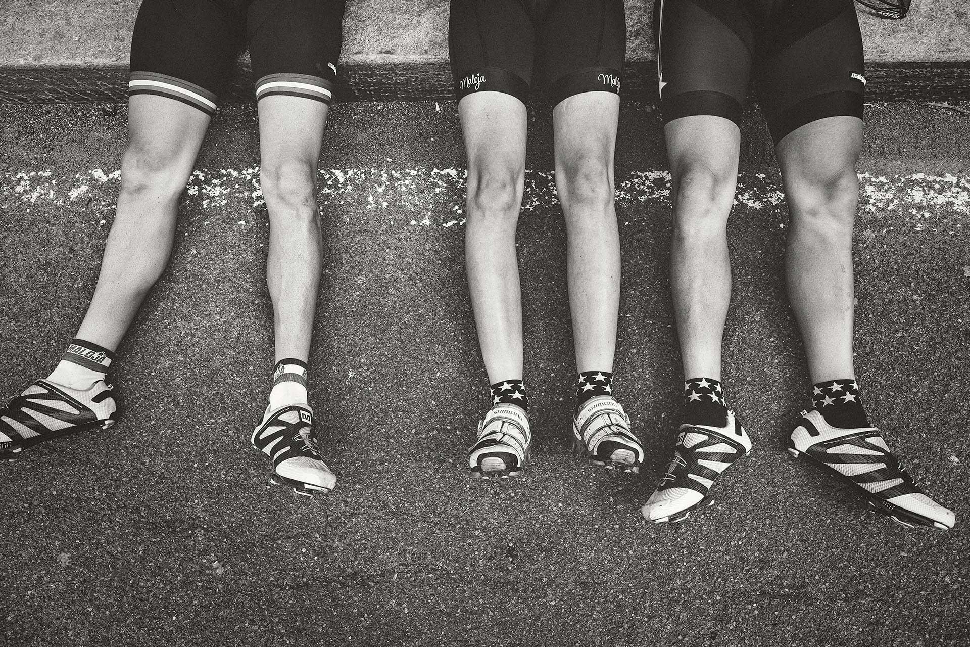 Beine Maloja Fahrrad Rennrad Sport Mailand Italien San Remo Fotograf Michael Müller