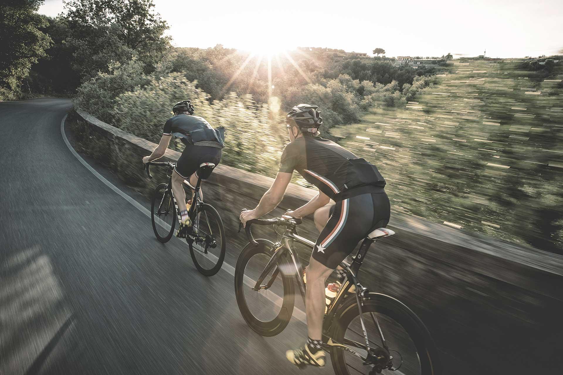 Rennrad Fotograf Outdoor Sport Aktion Fahrrad Mailand San Remo Maloja