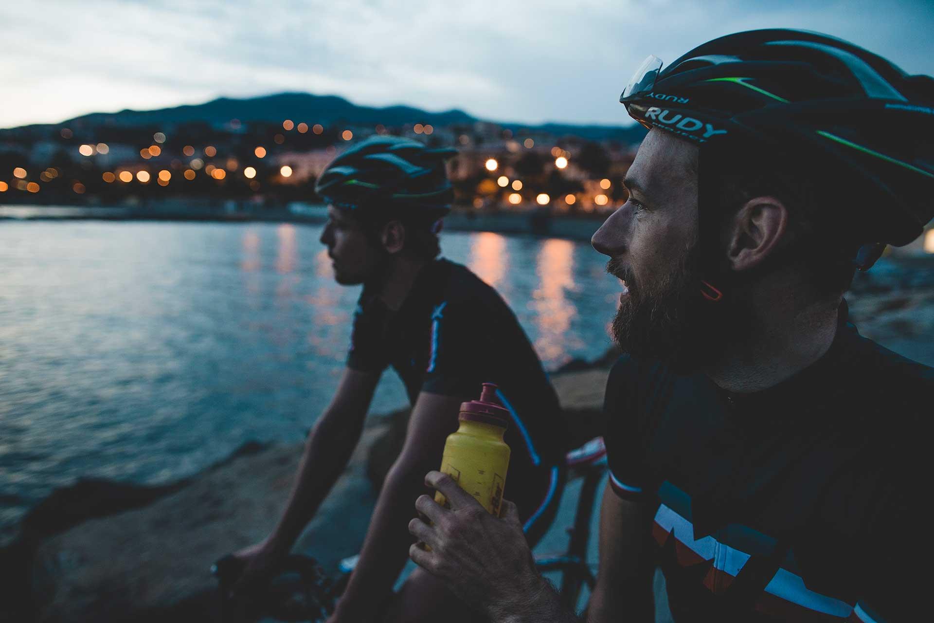 Roadbike Maloja Fotoproduktion Katalog San Remo Fotograf Michael Müller New York