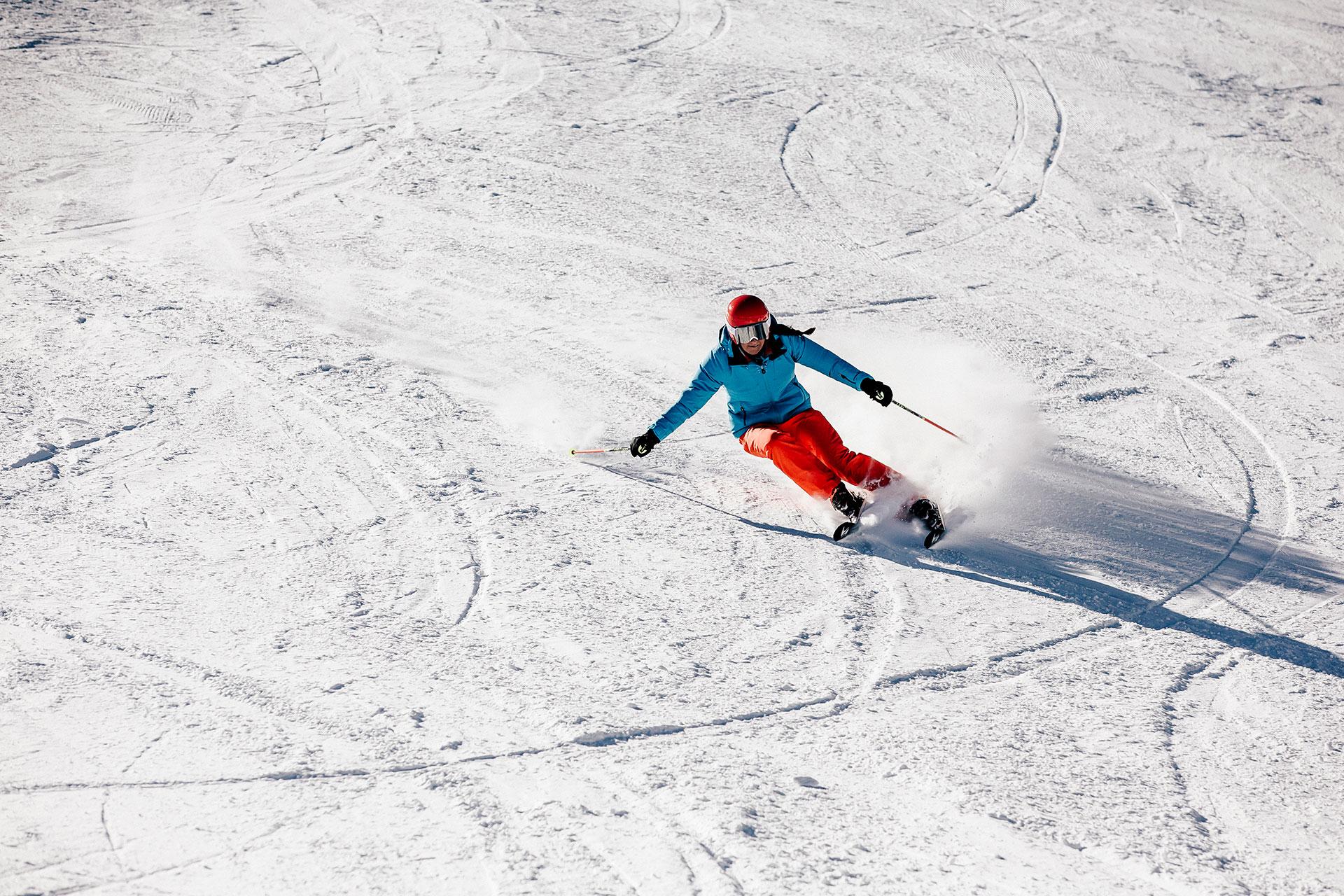 Carving Fotograf Ski Alpin Fotoproduktion Frankfurt Deutschland Schöffel