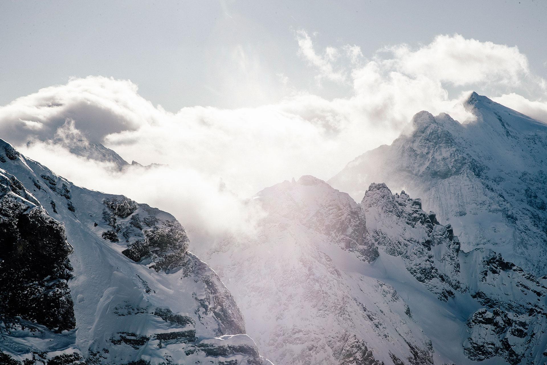 Fotograf Ski Alpin Michael Müller Sport Berge Winter Fotoproduktion Berlin
