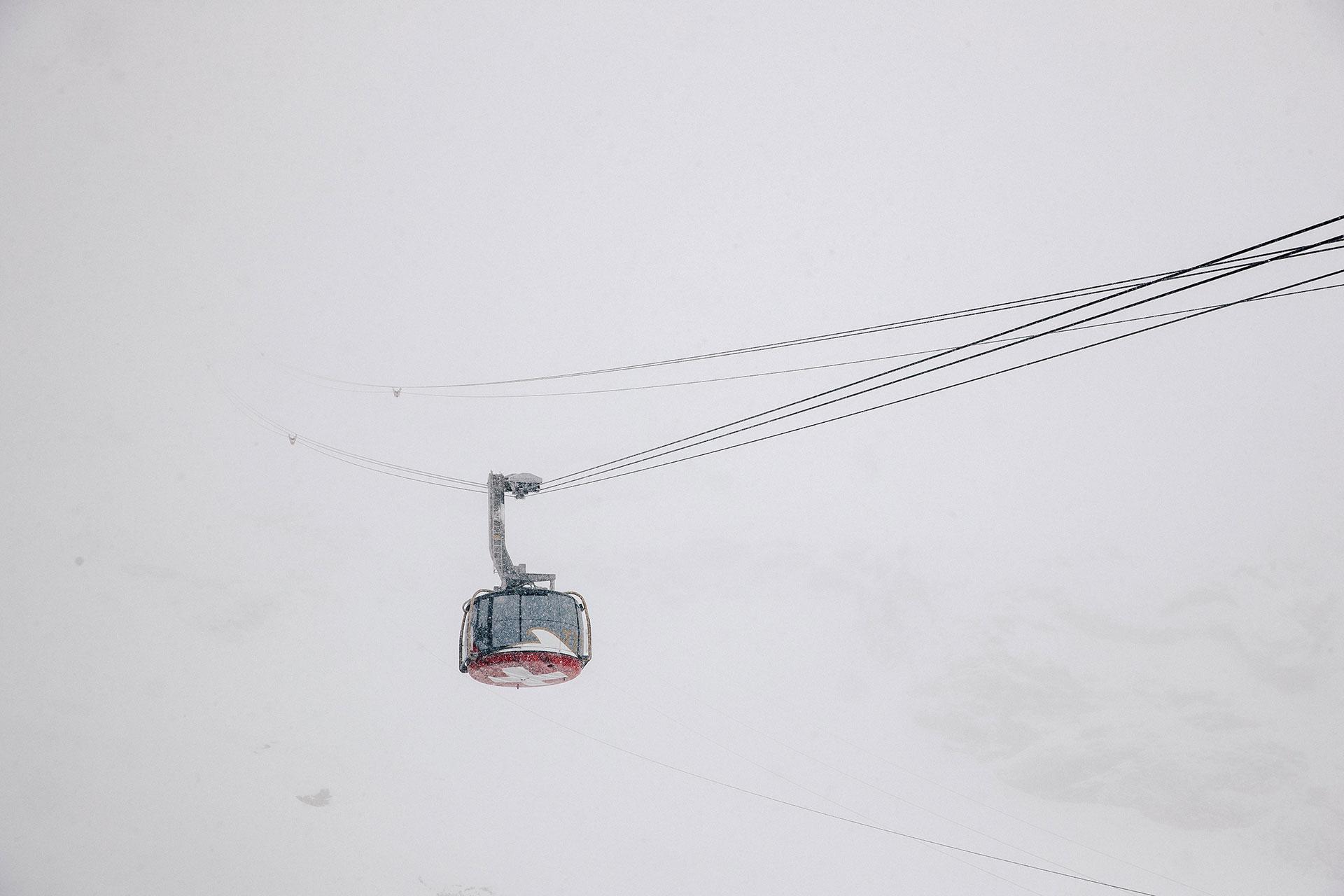 Seilbahn Fotograf Ski Alpin Winter Gondel Fotoproduktion Outdoor Michael Müller Hamburg