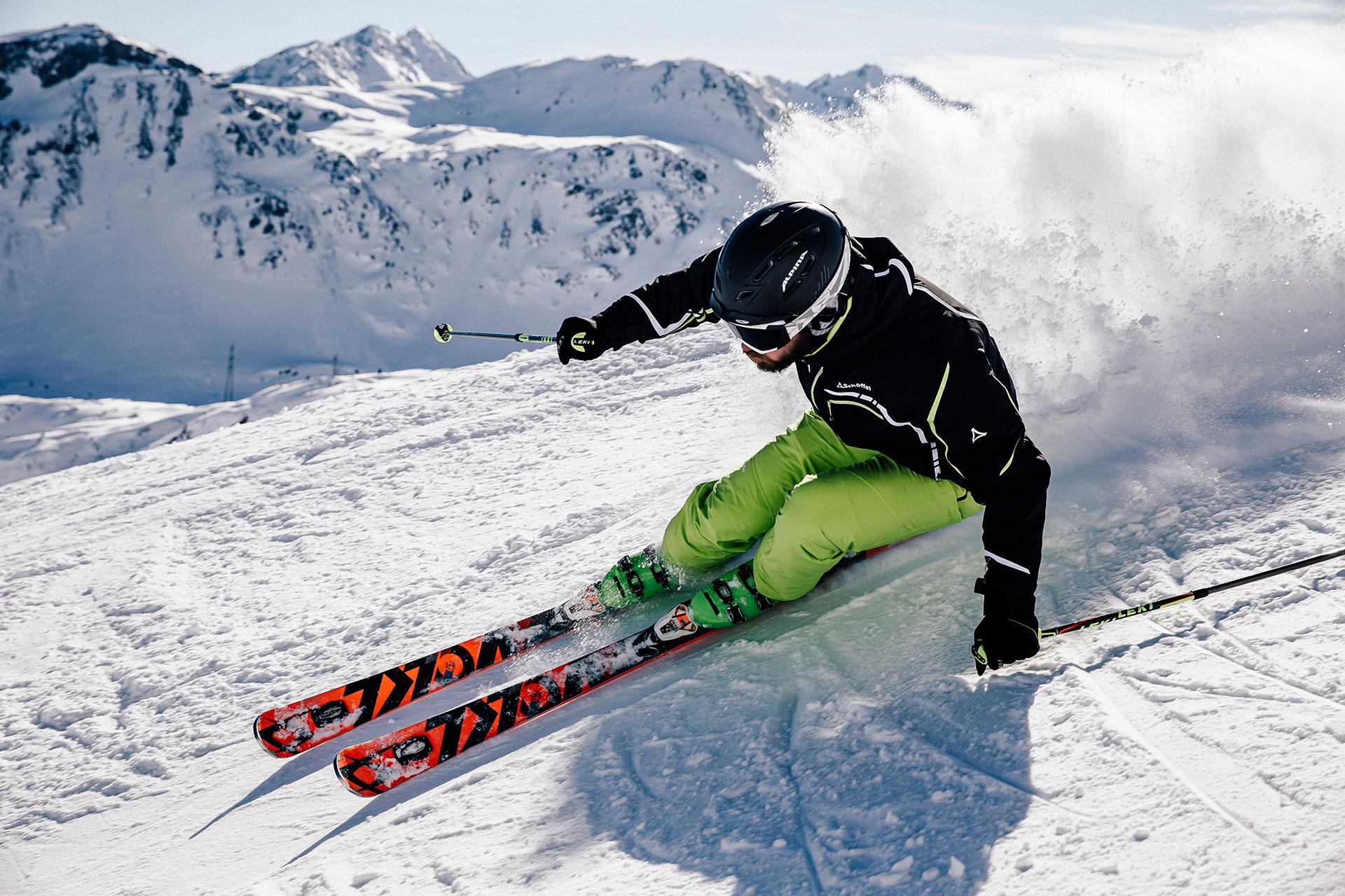 Fotograf Bekleidung winter Ski Alpin Katalog Fotoproduktion London United Kingdom