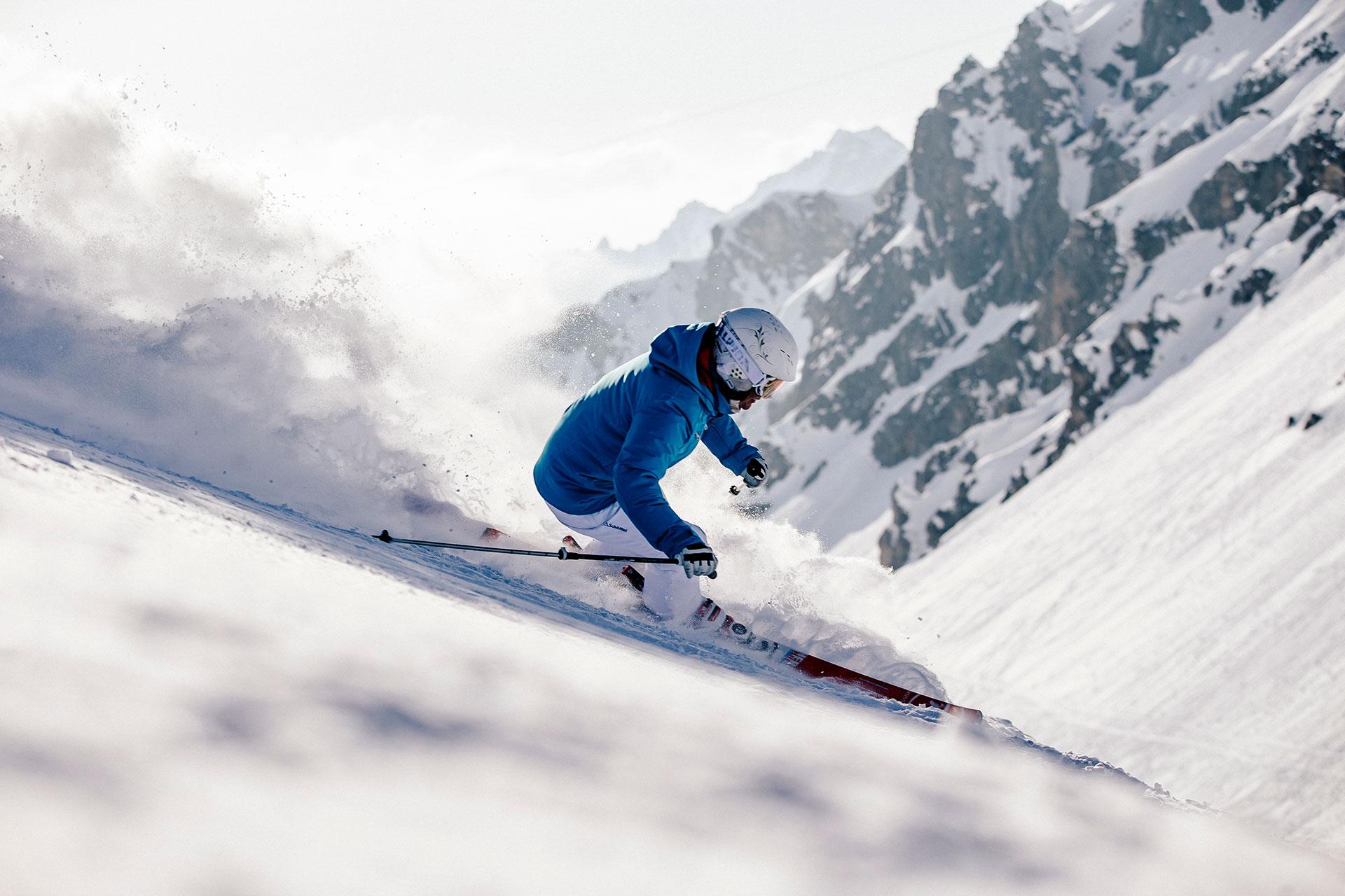 Ski Fotograf Winter Alpen Sport Aktion Deutschland München Micheal Müller