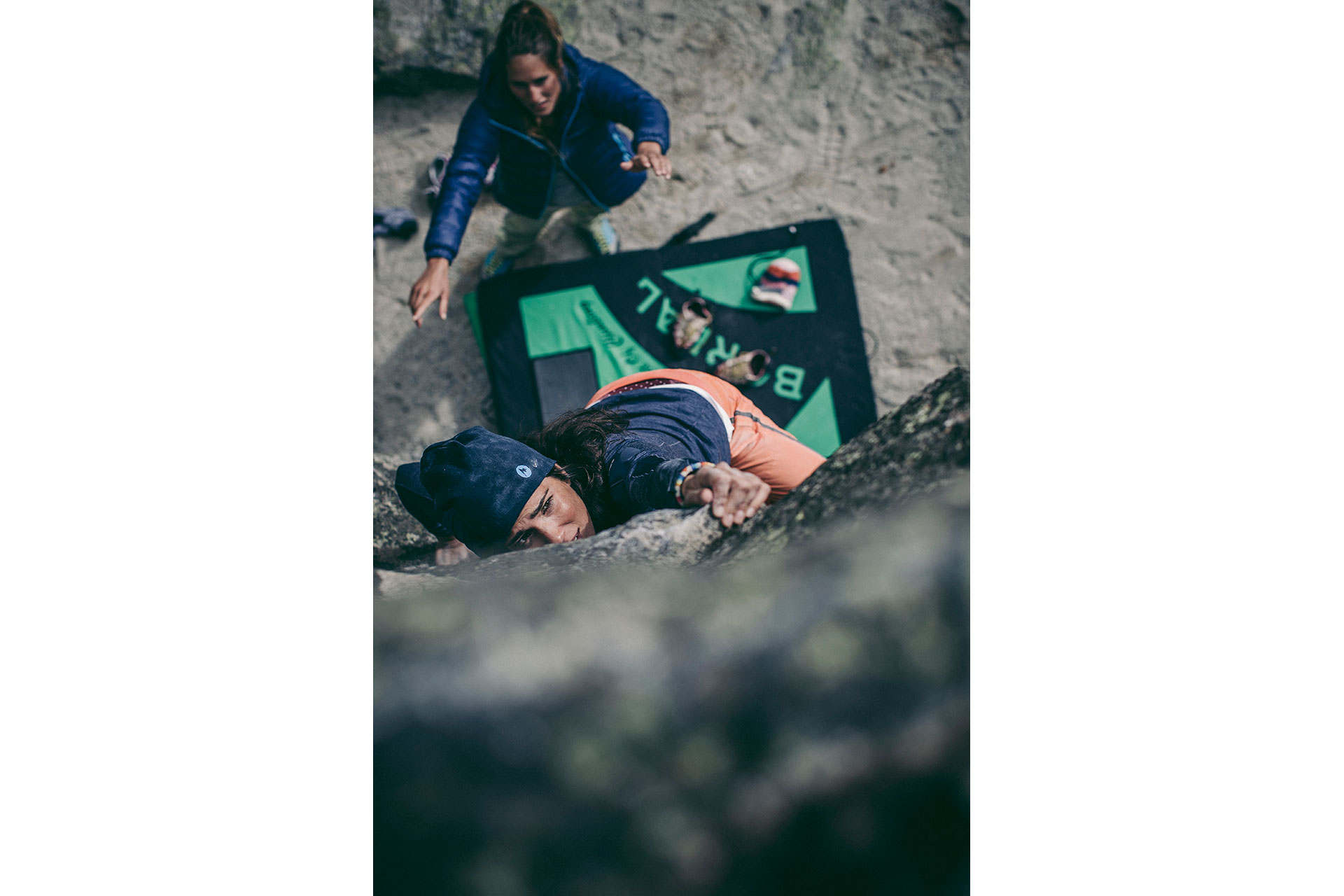 Berge Outdoor Sport Klettern Bouldern Fotograf Michael Müller Berlin