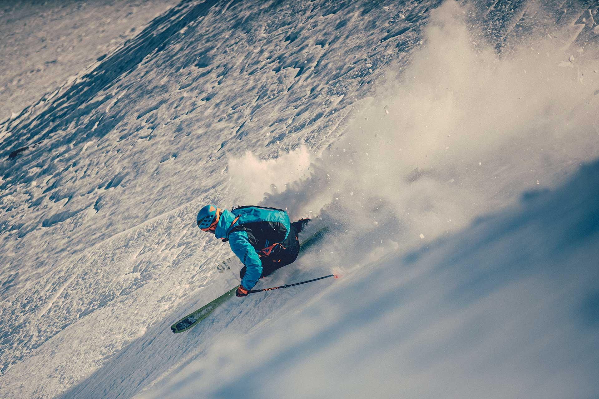 Freeride Skitour Wintersport Ski Fotograf Düsseldorf Michael Müller