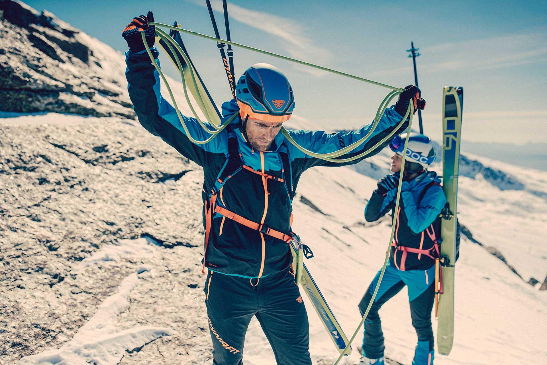 Skibergsteigen Fotograf Wintersport Alpin Fotoproduktion London Sport