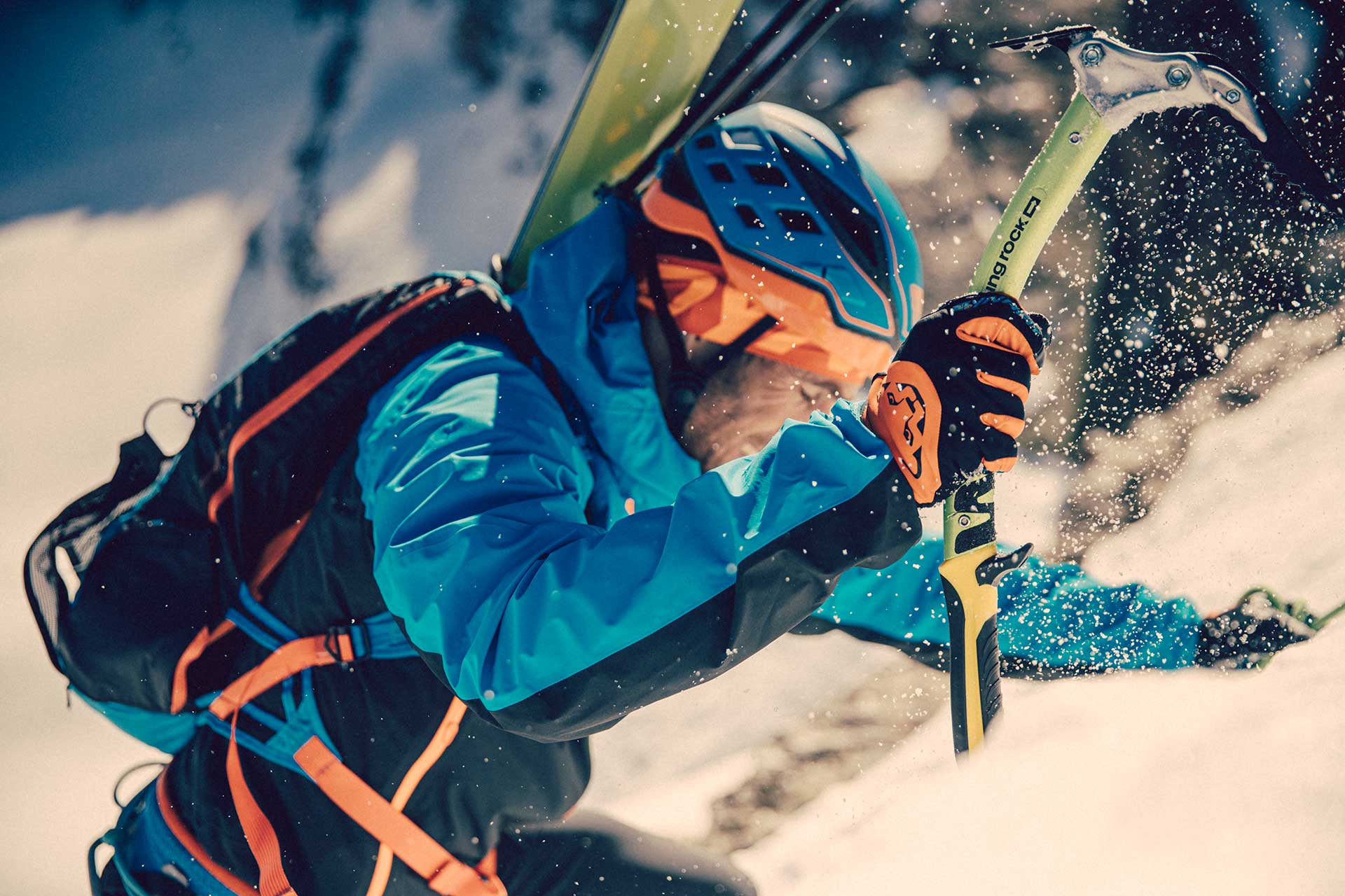 Aufstieg Alpin Skitour Wintersport Fotograf Michael Müller München