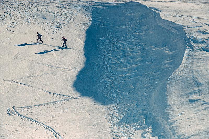 London Photographer Outdoor Photoshooting Dynafit skimountaineering