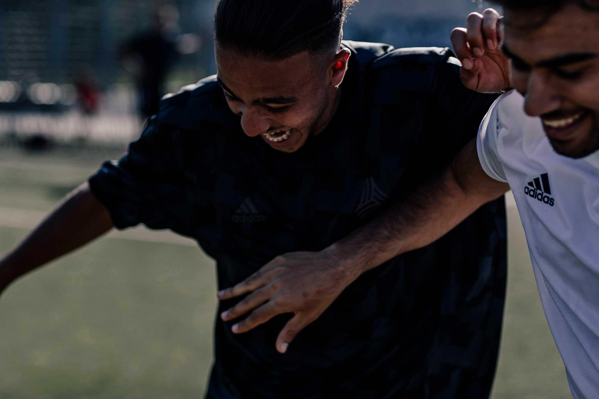 Adidas Powerbar Fußball Fotoproduktion Teamsport Michael Müller Fotograf London