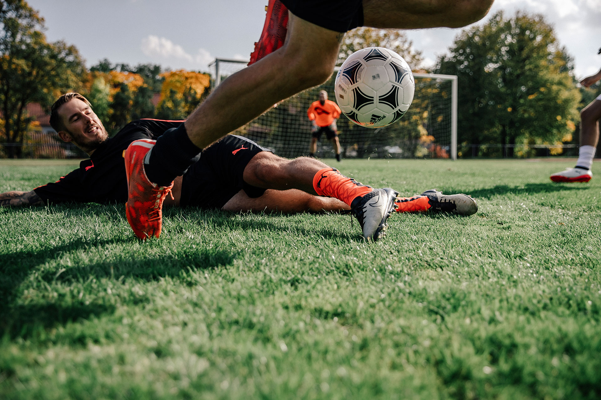 Teamsport Fotograf Sport Outdoor Fußball Aktion Adidas Kampagne berlin