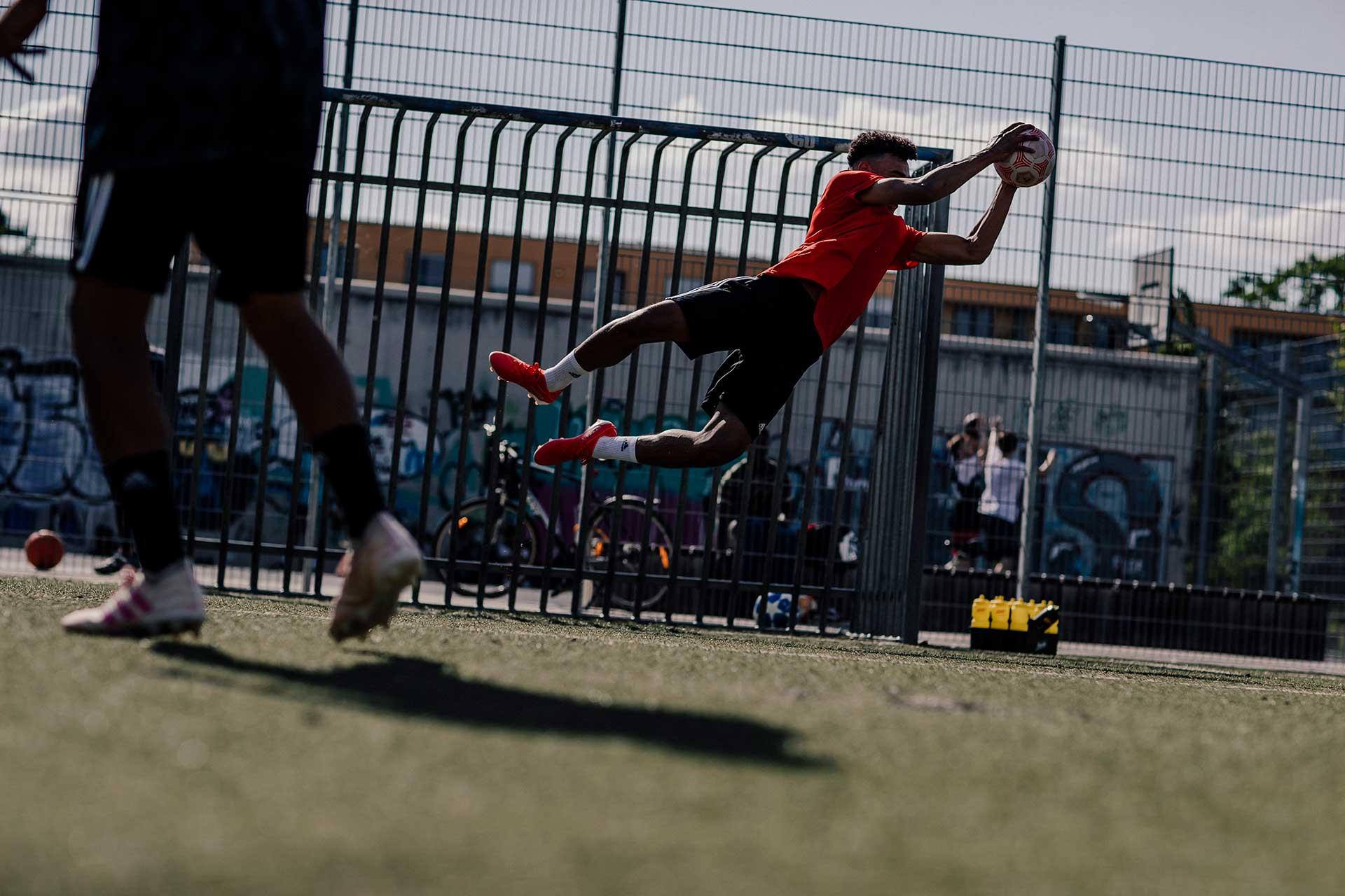 Fotograf Sport Fußball Powerbar Fotoproduktion Deutschland Köln