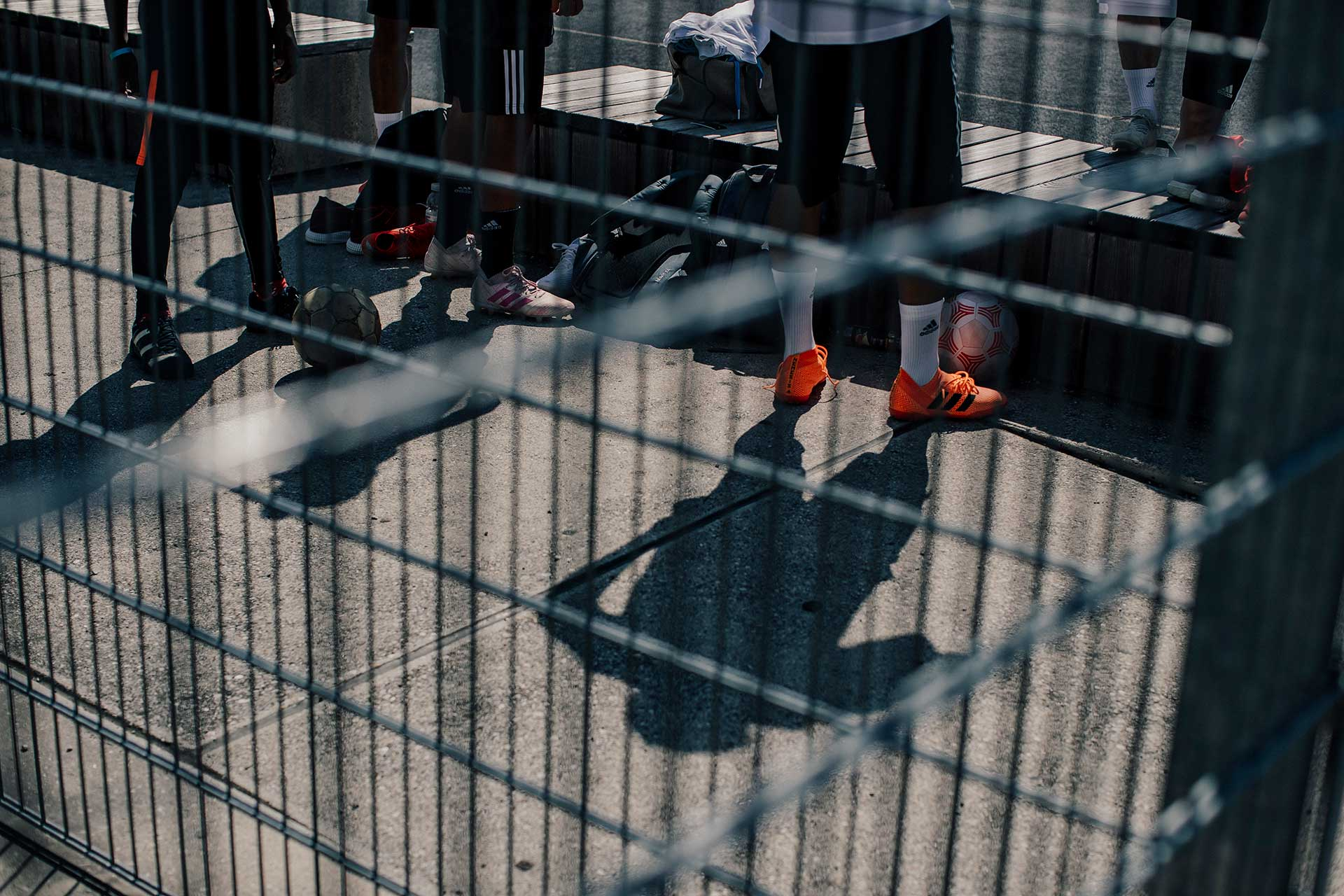 Sportfotografie Fußball Adidas Fotograf Hamburg