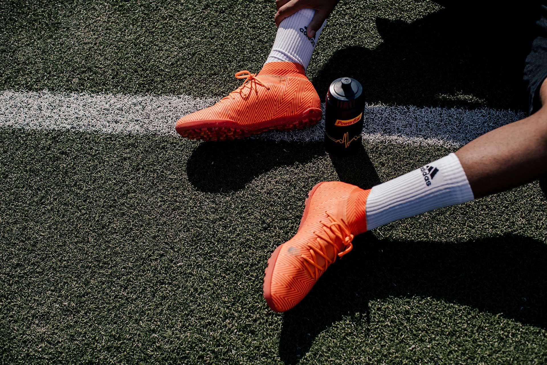 Fußballschuhe Kleidung Fotograf Detail Lifestyle Sport Düsseldorf