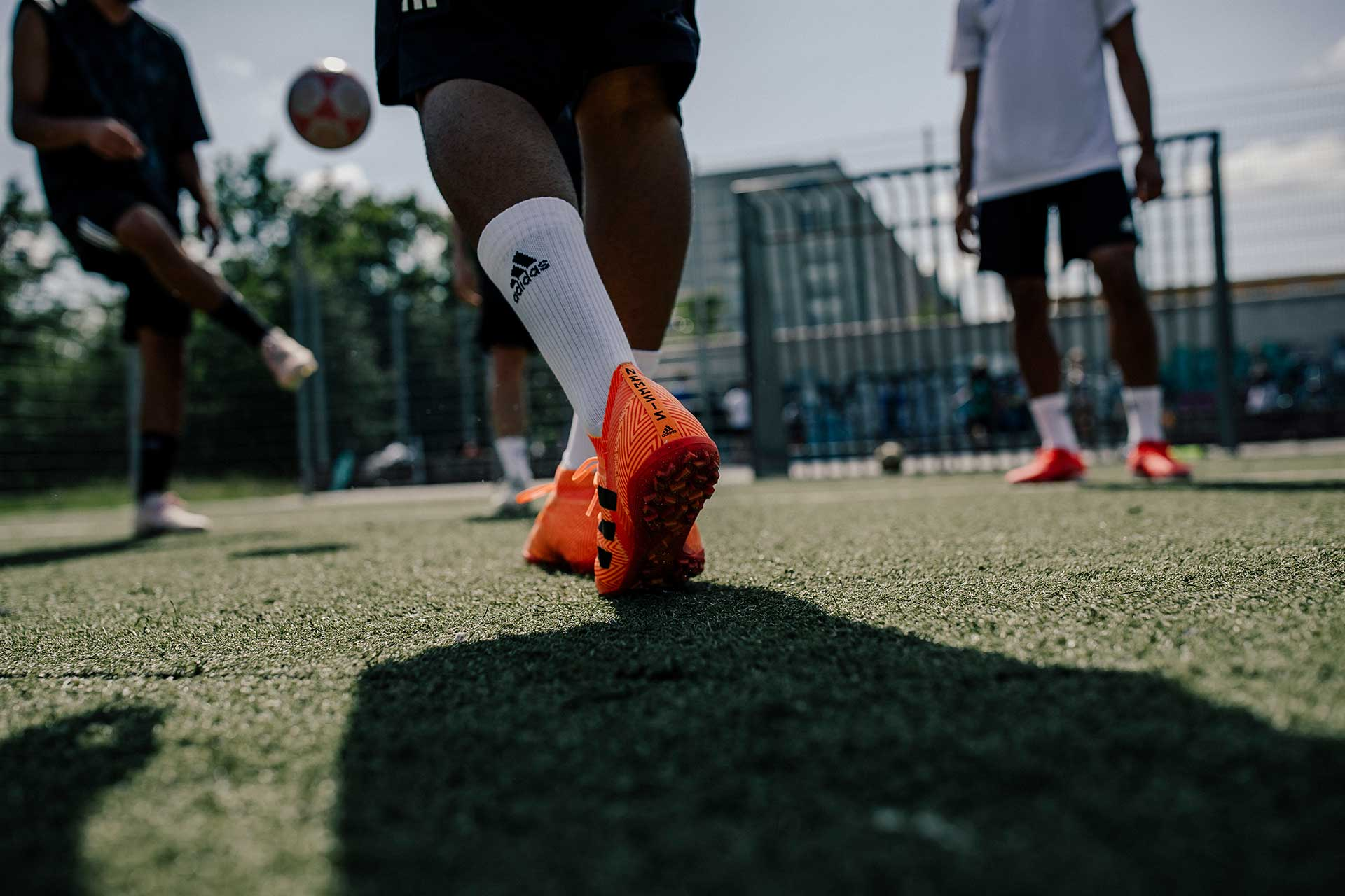 Fotograf Streetsoccer Sport Berlin Fußball Team
