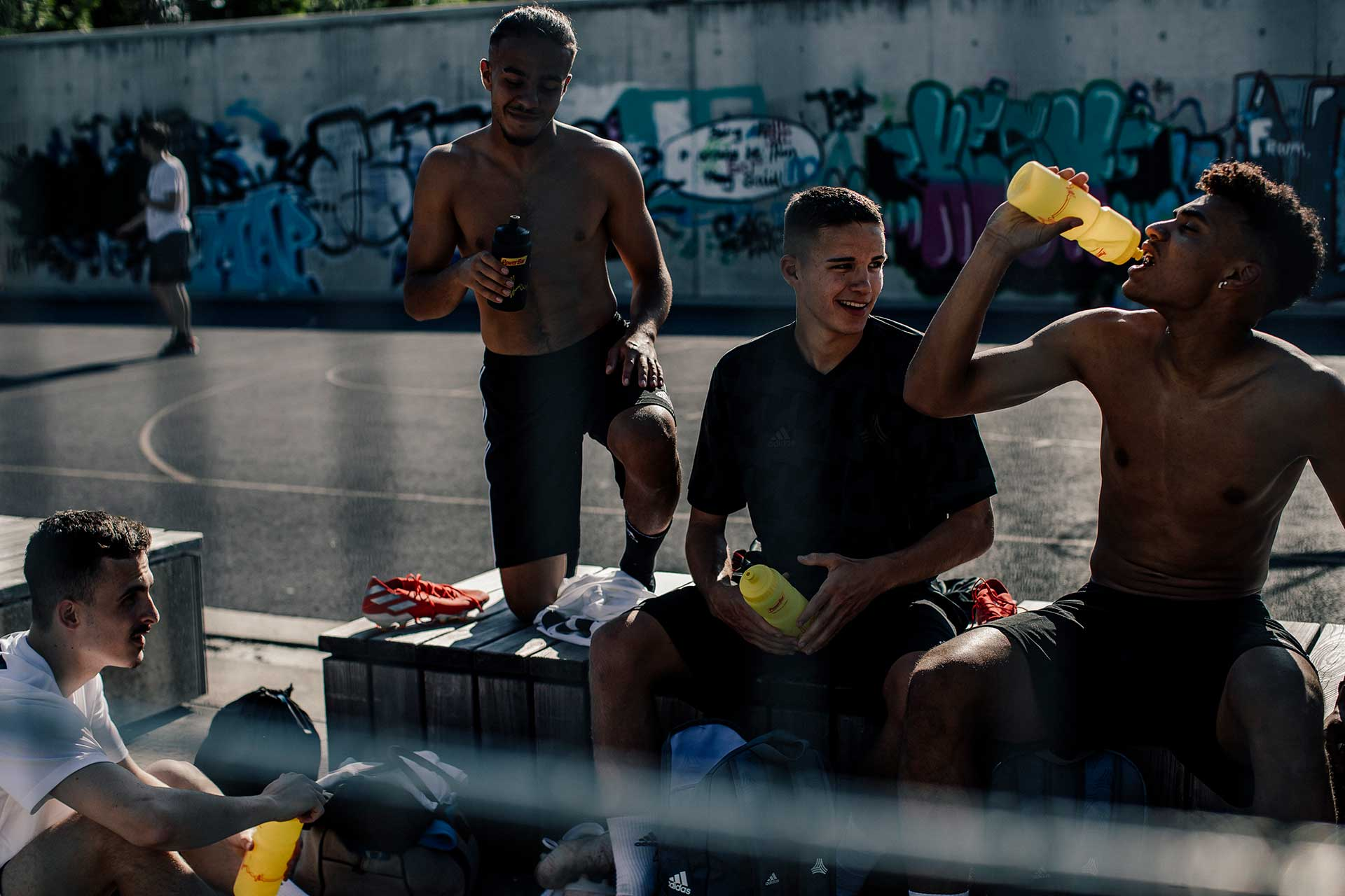 Teamsport Fotoproduktion Adidas Kampagne Fußball London Michael Müller