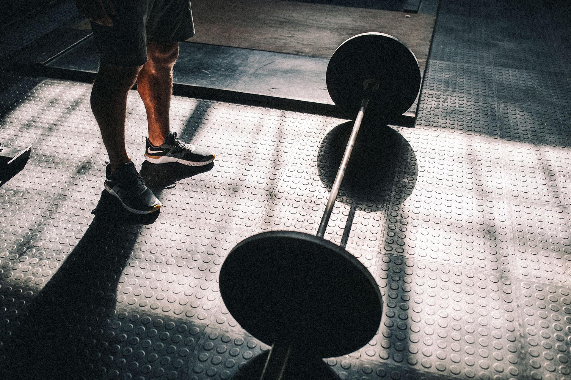 London Fitness Sport Crossfit Training Studio Gewichte Fotograf