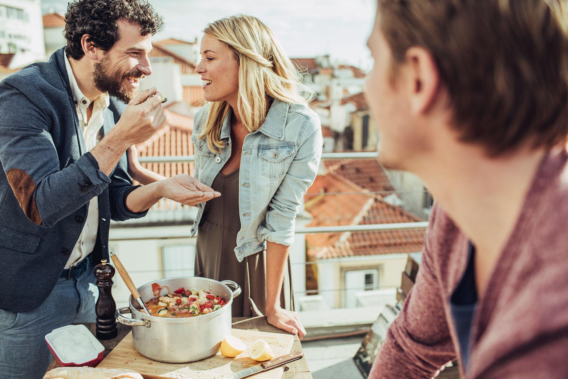 Lissabon Portugal Rooftop Lifestyle People Fotoproduktion Food Kochen Essen Michael Müller