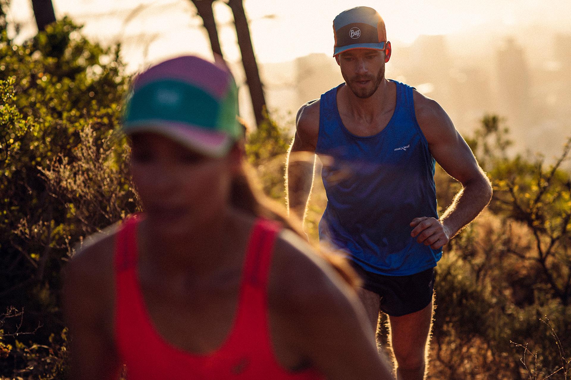 Sport Fotograf Laufen Fitness Bekleidung Sonnenaufgang Lifestyle