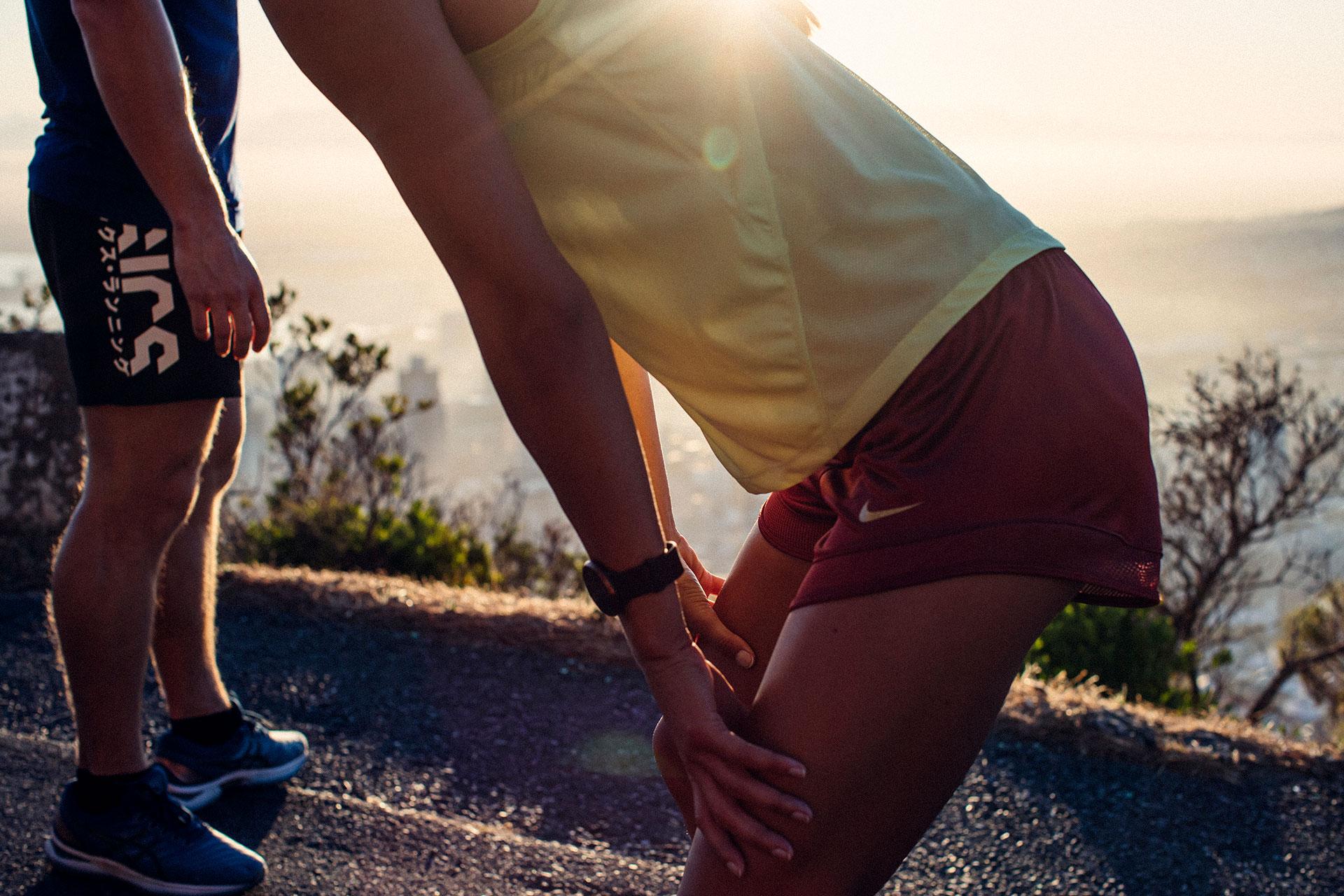 Sportfotografie Engelhorn Laufen Joggen Gegenlicht Fitness