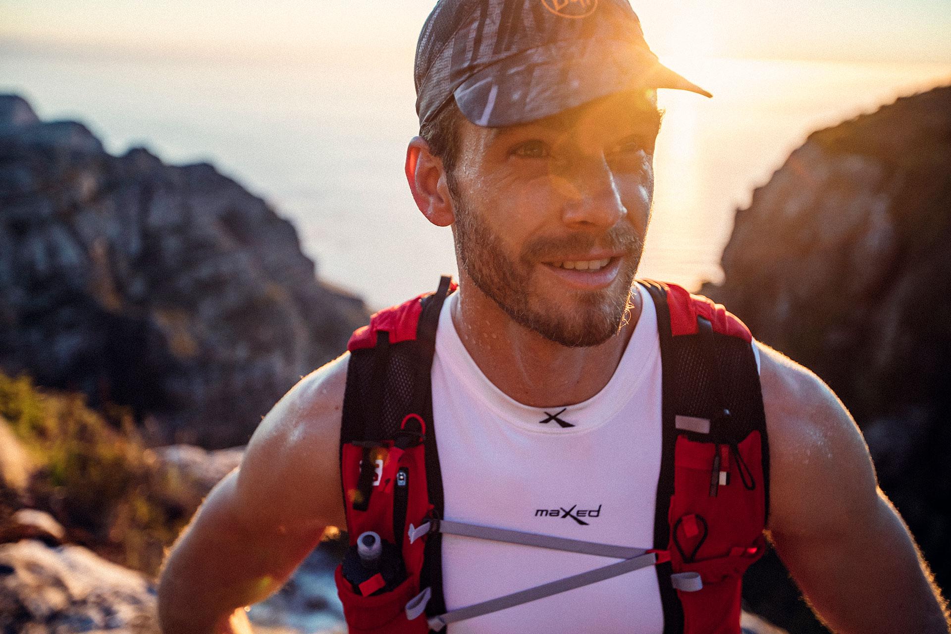 Engelhorn Sport Porträt Lifestyle Fotograf Michael Müller Sonnenaufgang Trailrunning