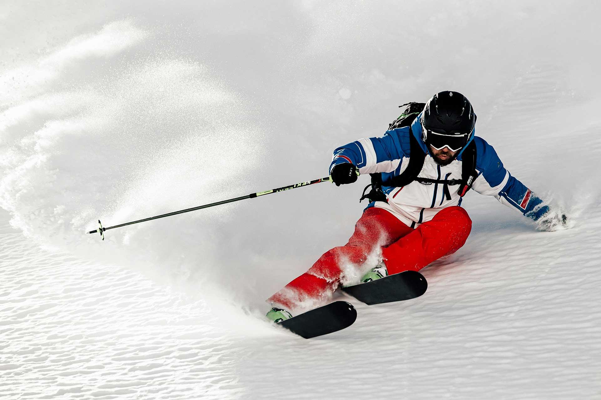 Ski Winter Tiefschnee Sportfotograf Michael Müller Wien