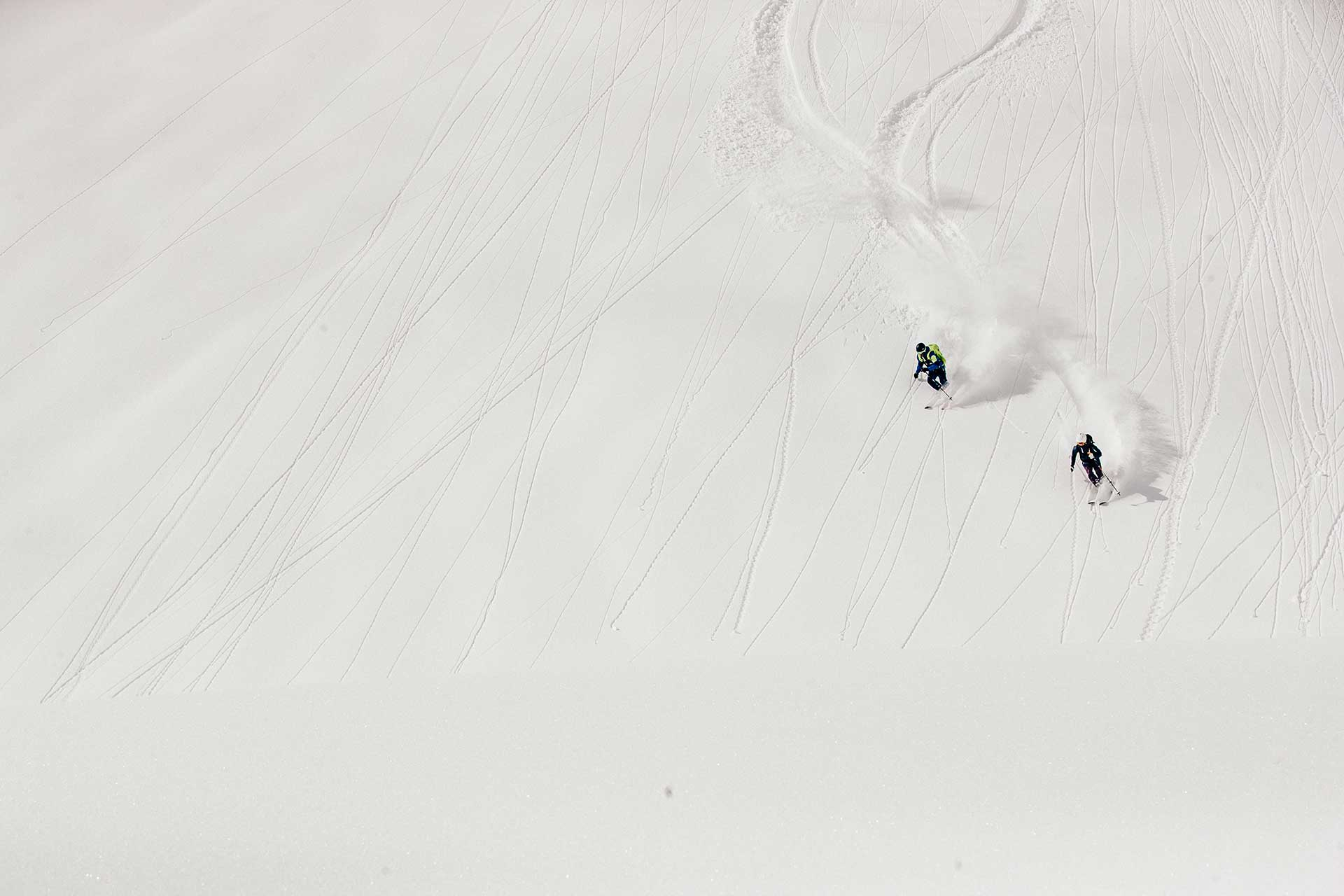 Fotograf Ski Winter Powder Tiefschnee Freeride Aktion New York