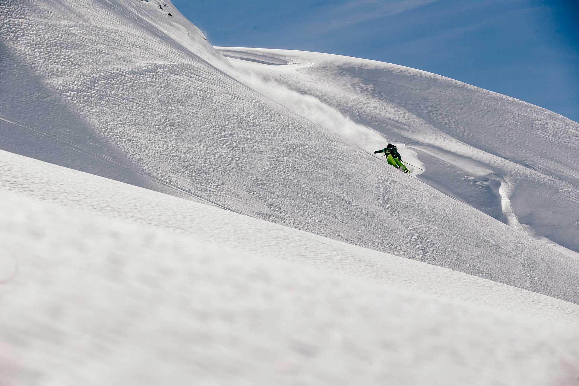 Fotoproduktion Winter Schnee Ski Outdoor Fotograf Michael Müller München