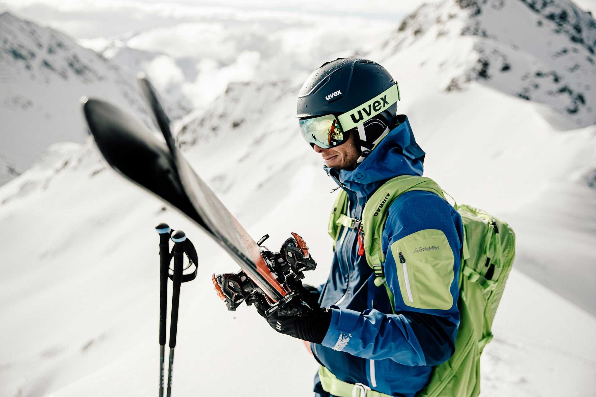 Skibekleidung Schöffel Outdoor Katalog Fotoproduktion Kampagne Michael Müller Fotograf