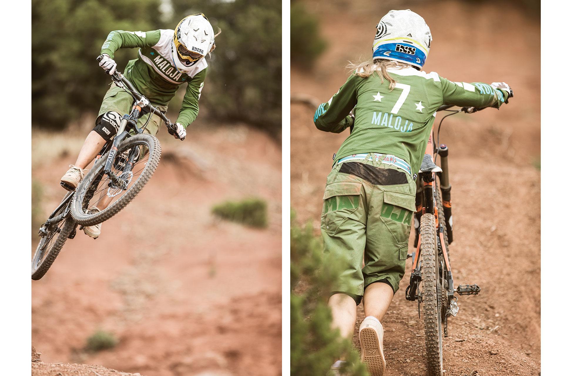 Freeride Fotograf Sport Outdoor Maloja Katalog Mountainbike Aktion München Deutschland