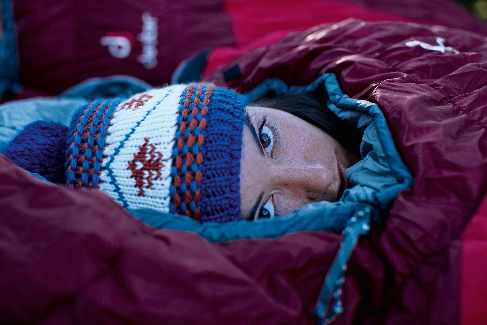 Portrait Schlafsack Maloja Katalog Fotograf Michael Müller Outdoor