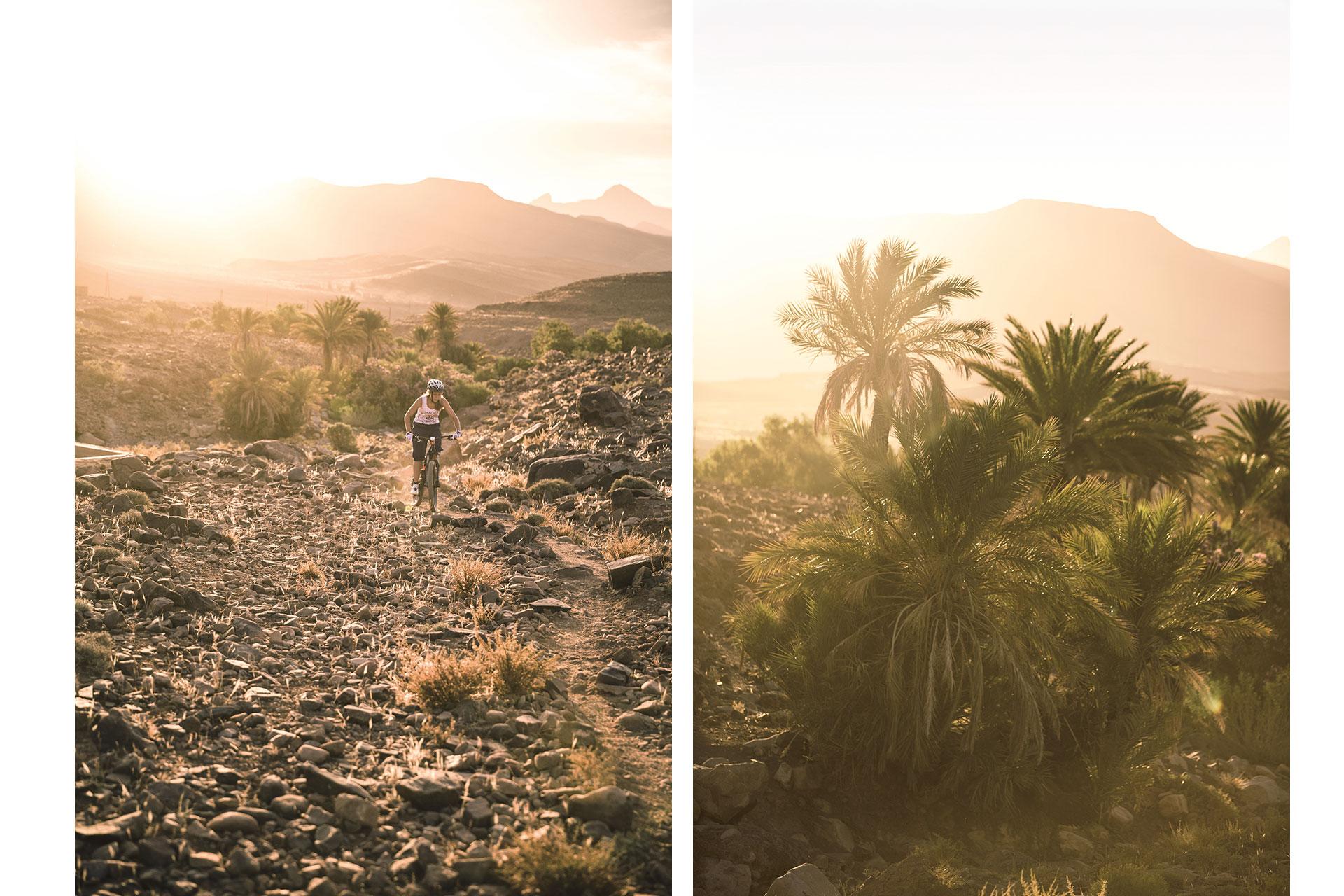 Outdoor Landschaft Travel Reisen Sport Fotograf Mountainbike Marokko Sonnenuntergang